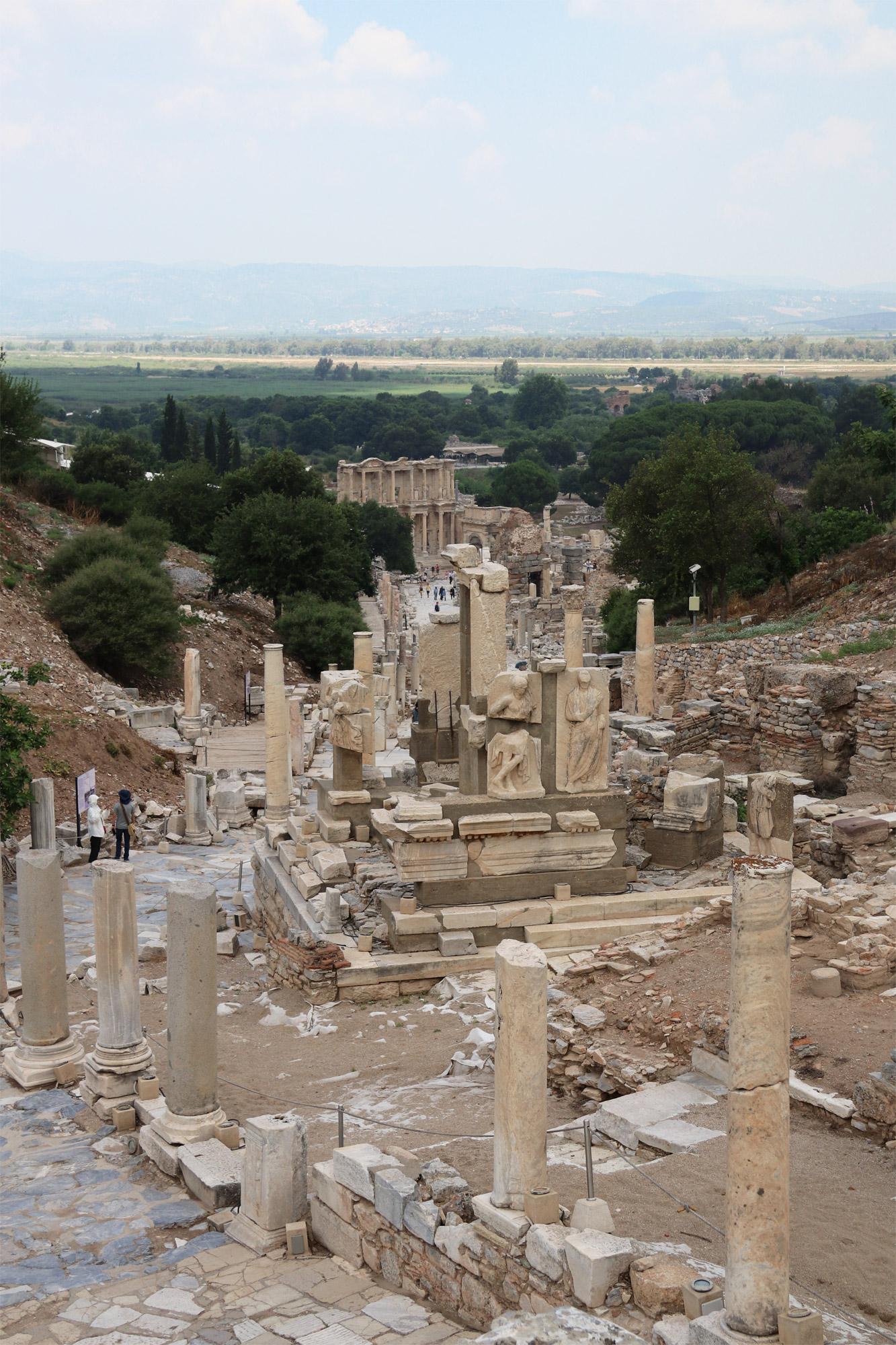 Turkije reisverslag: Efeze en Şirince - Memmius Monument