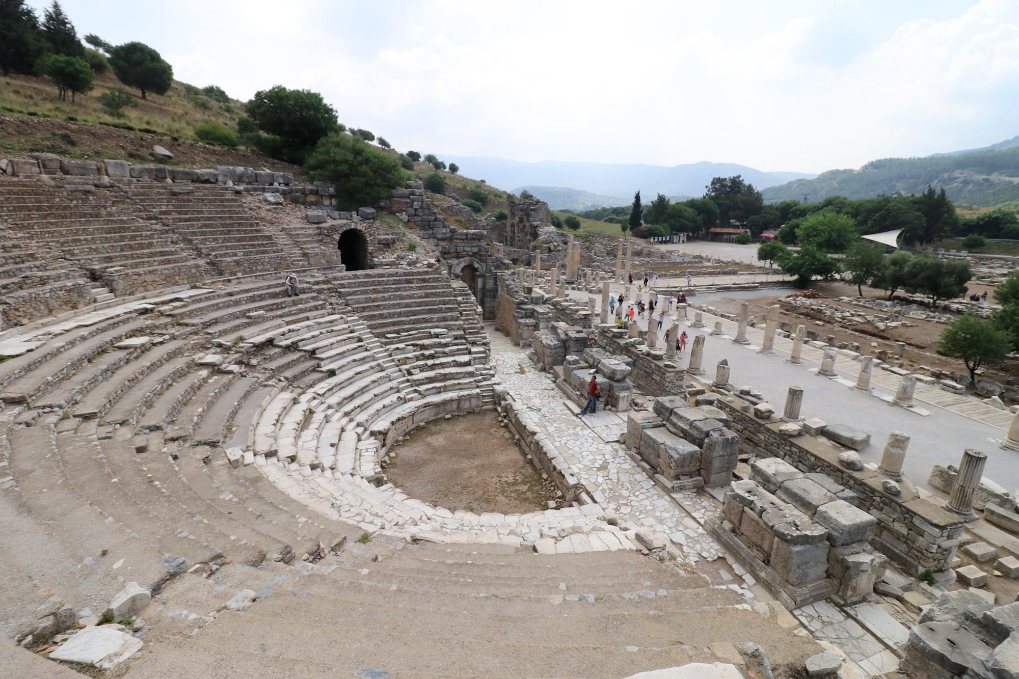 Turkije reisverslag: Efeze en Şirince - Odeion