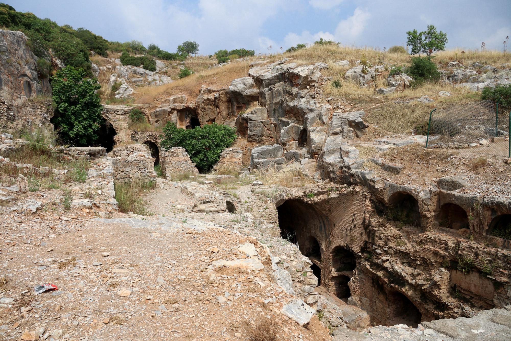 Turkije reisverslag: Efeze en Şirince - Zevenslapers van Efeze