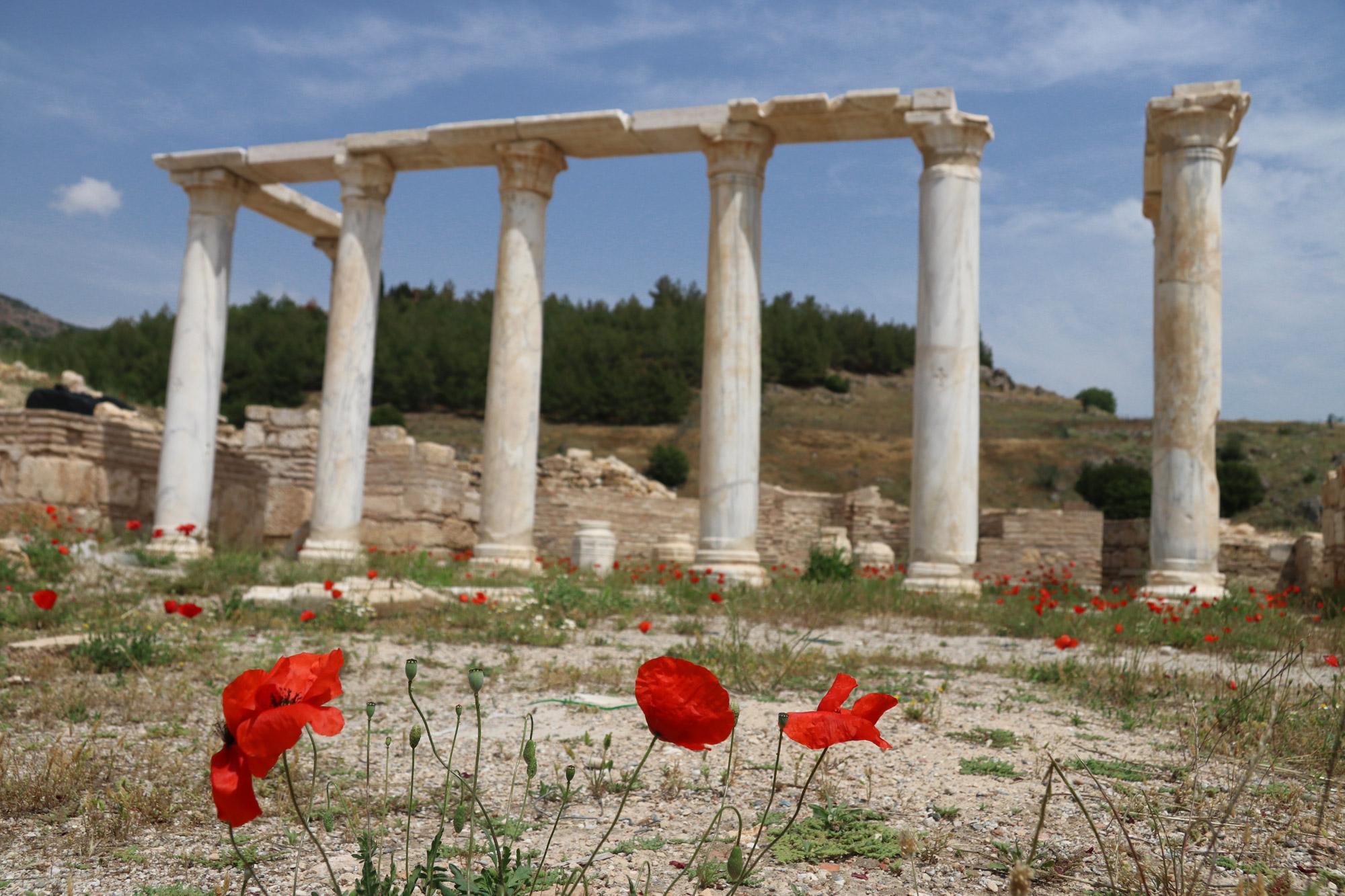 Turkije reisverslag: Pamukkale en Hiërapolis - Aghiasma