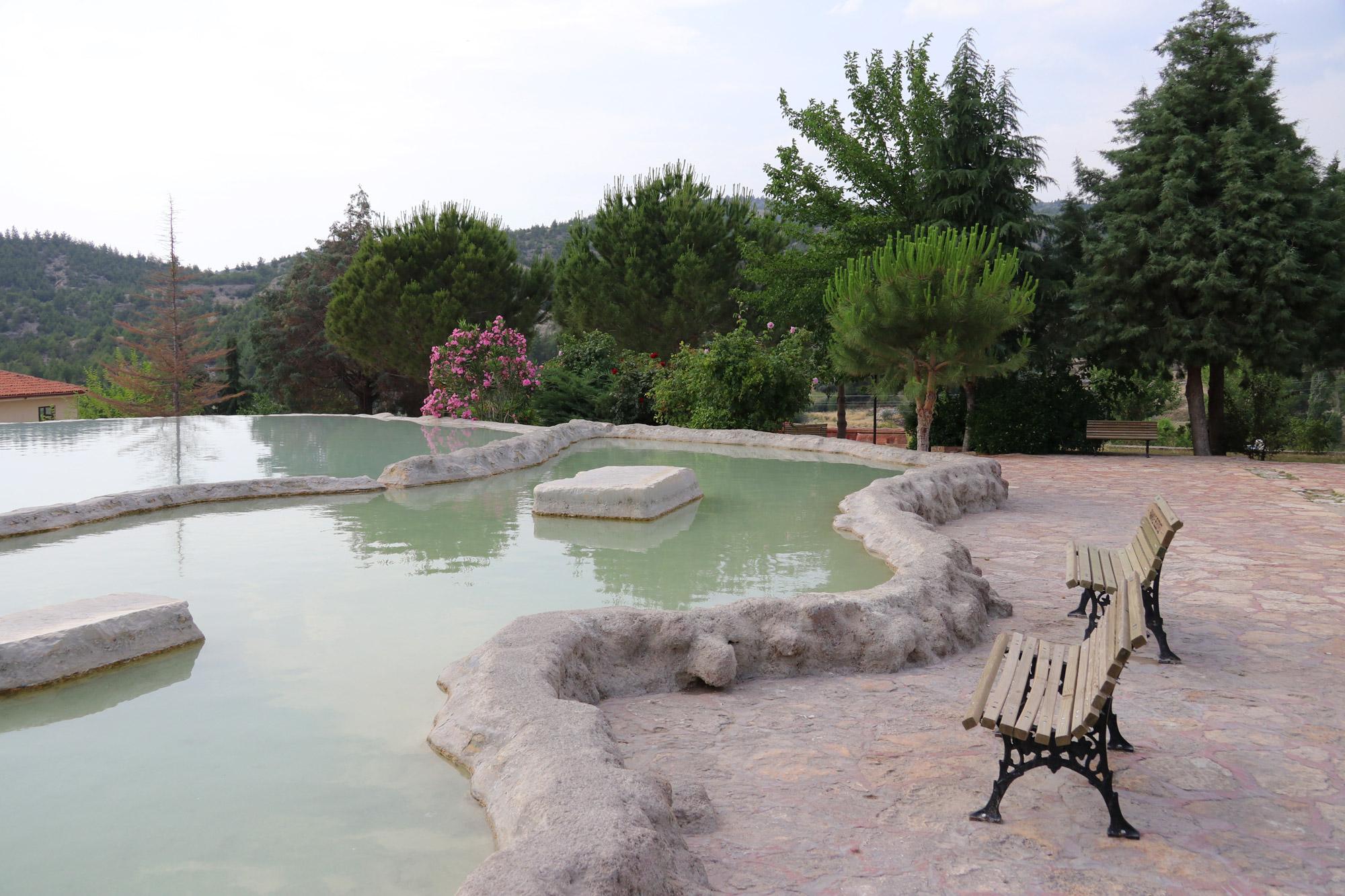 Turkije reisverslag: Pamukkale en Hiërapolis - Karahayit Spa Center