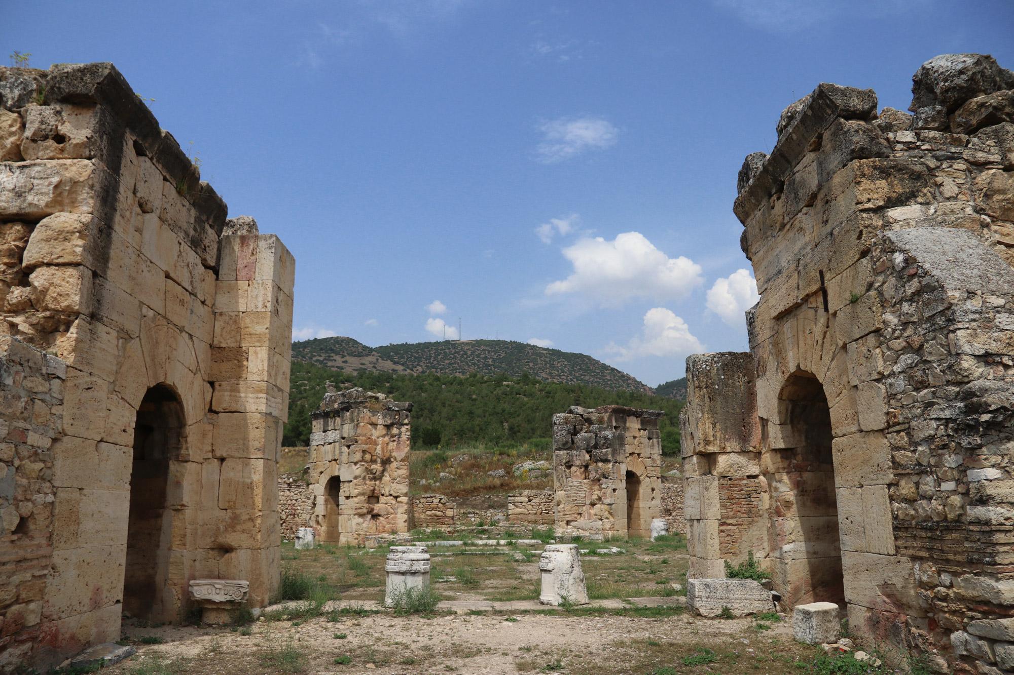 Turkije reisverslag: Pamukkale en Hiërapolis - Martyrium van Filippus