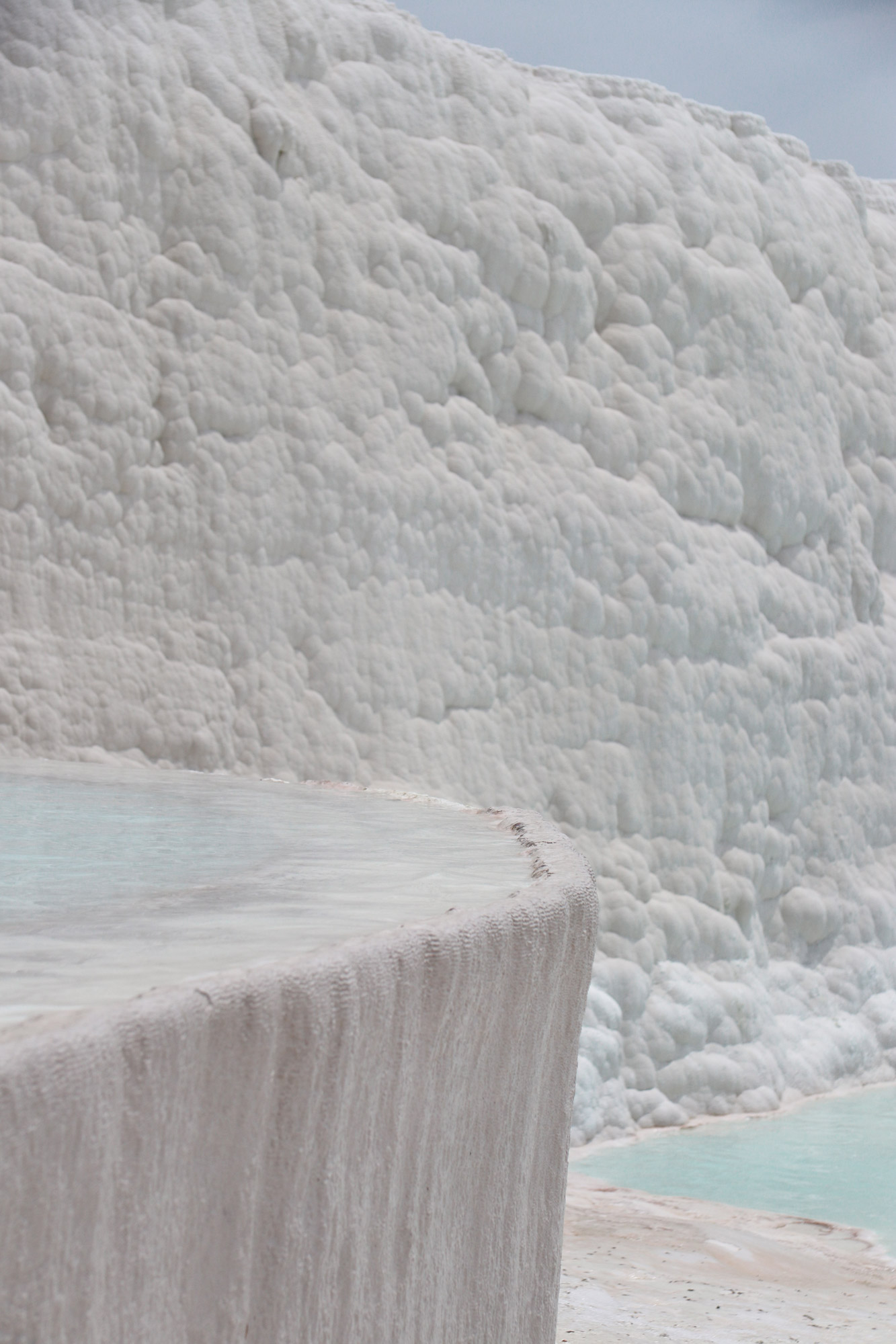 Turkije reisverslag: Pamukkale en Hiërapolis - Kunstmatige terrassen