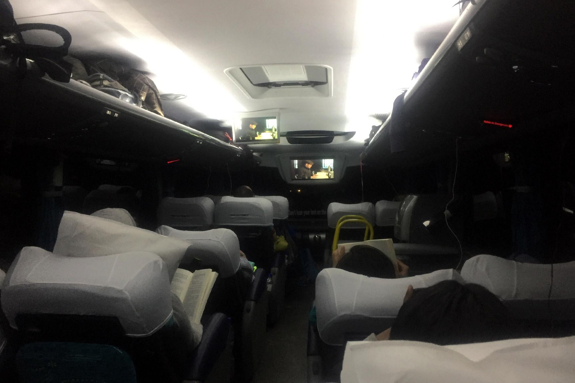 handige tips voor een Bolivia reis - Neem de nachtbus