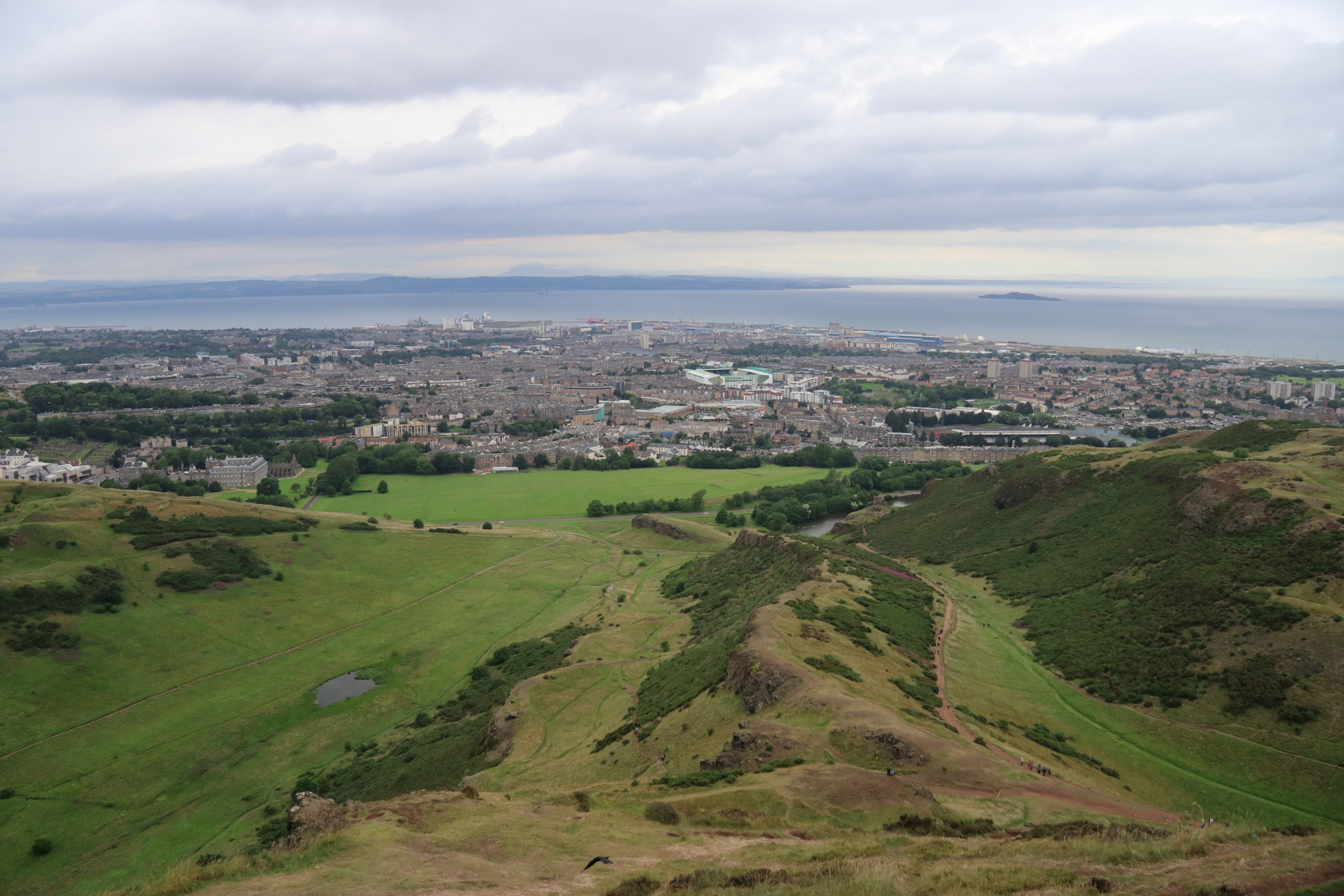 Mannenweekend in Edinburgh - Op de top van Arthur's Seat