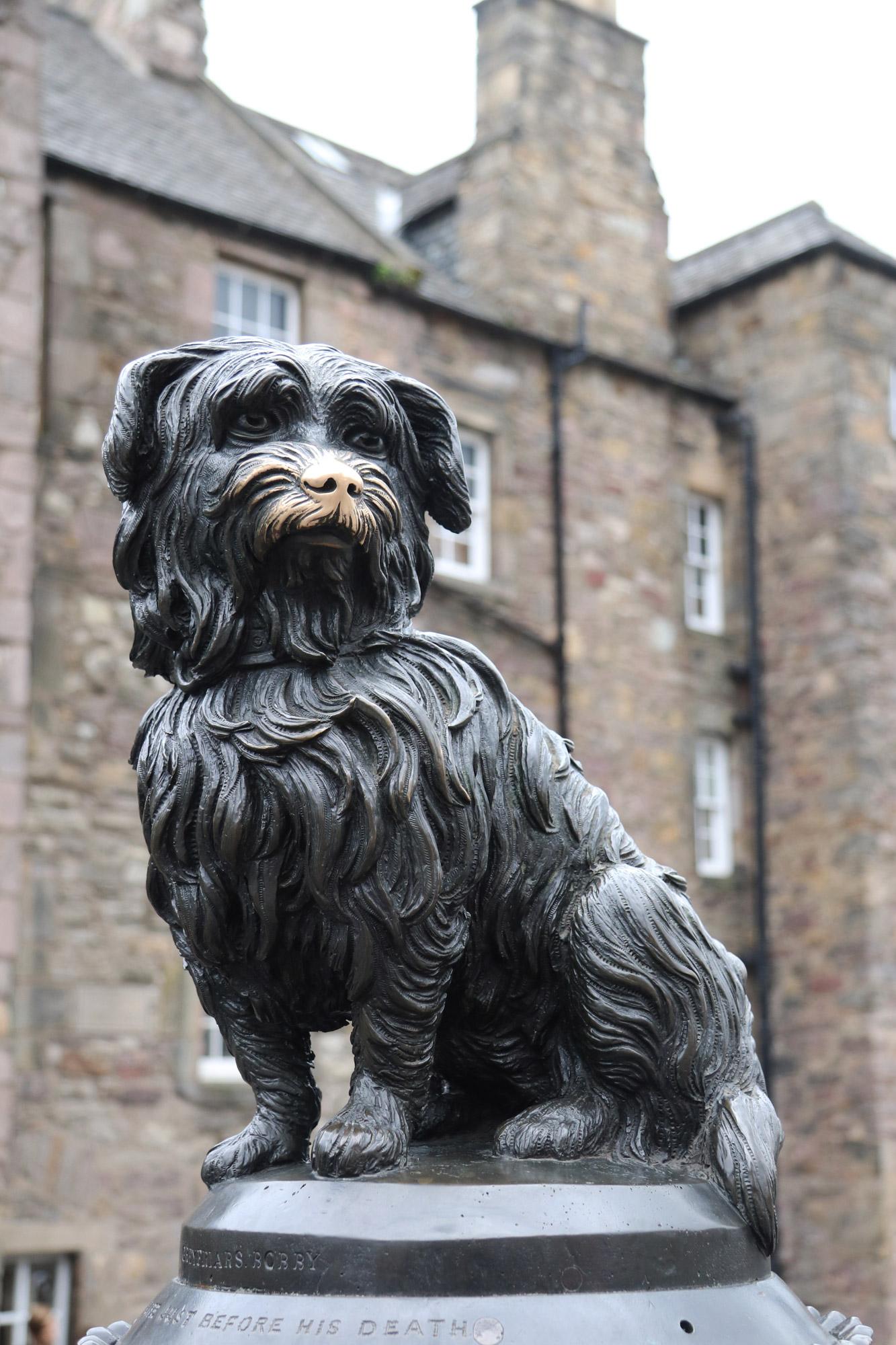 Mannenweekend in Edinburgh - Greyfriars Bobby