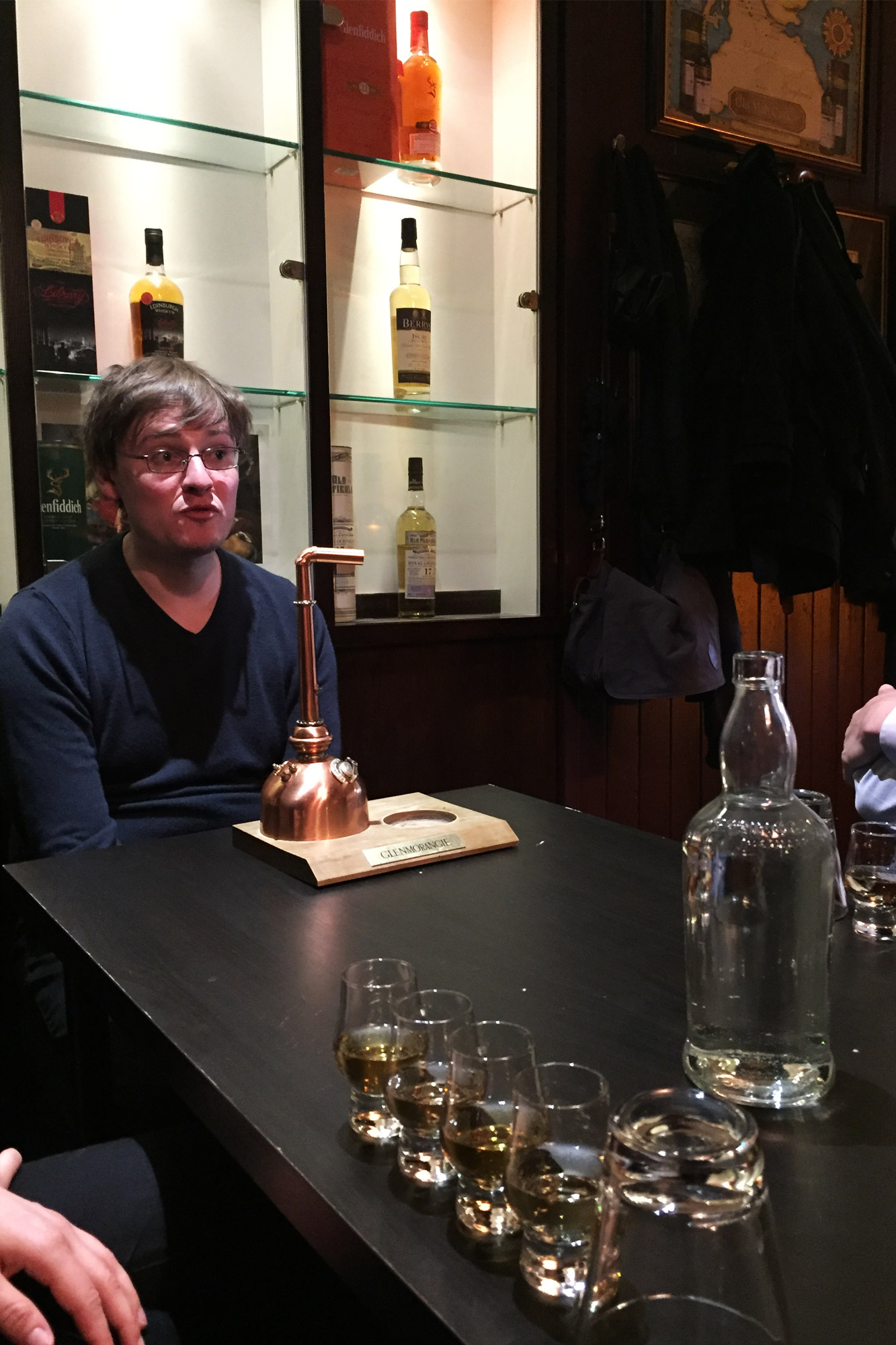 Mannenweekend in Edinburgh - Whisky proeverij