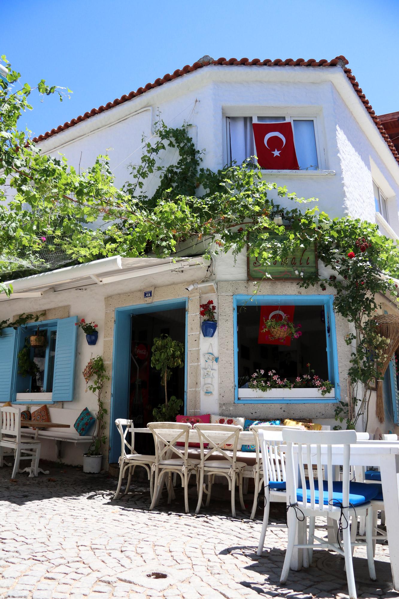 Turkije reisverslag: Laatste dag in Alaçatı - Centrum van Alaçatı