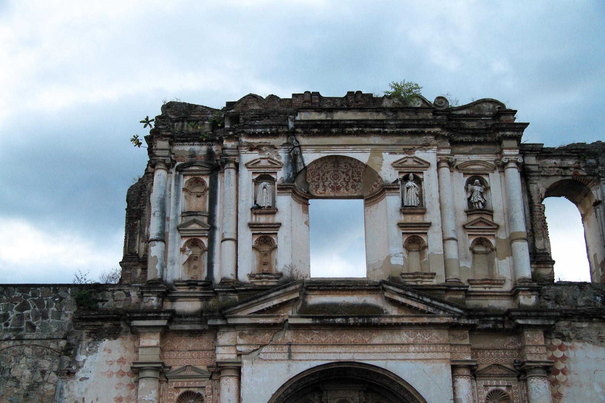 De ruïnes van Antigua - Iglesia de la Compañia de Jesús