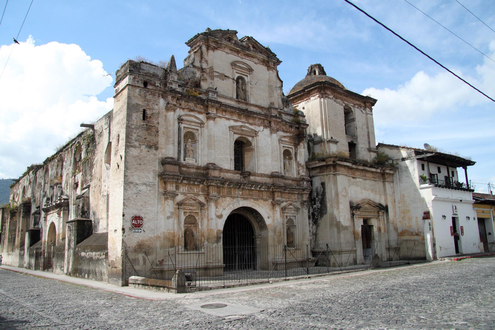 De ruïnes van Antigua - Iglesia y Convento de San Agustin