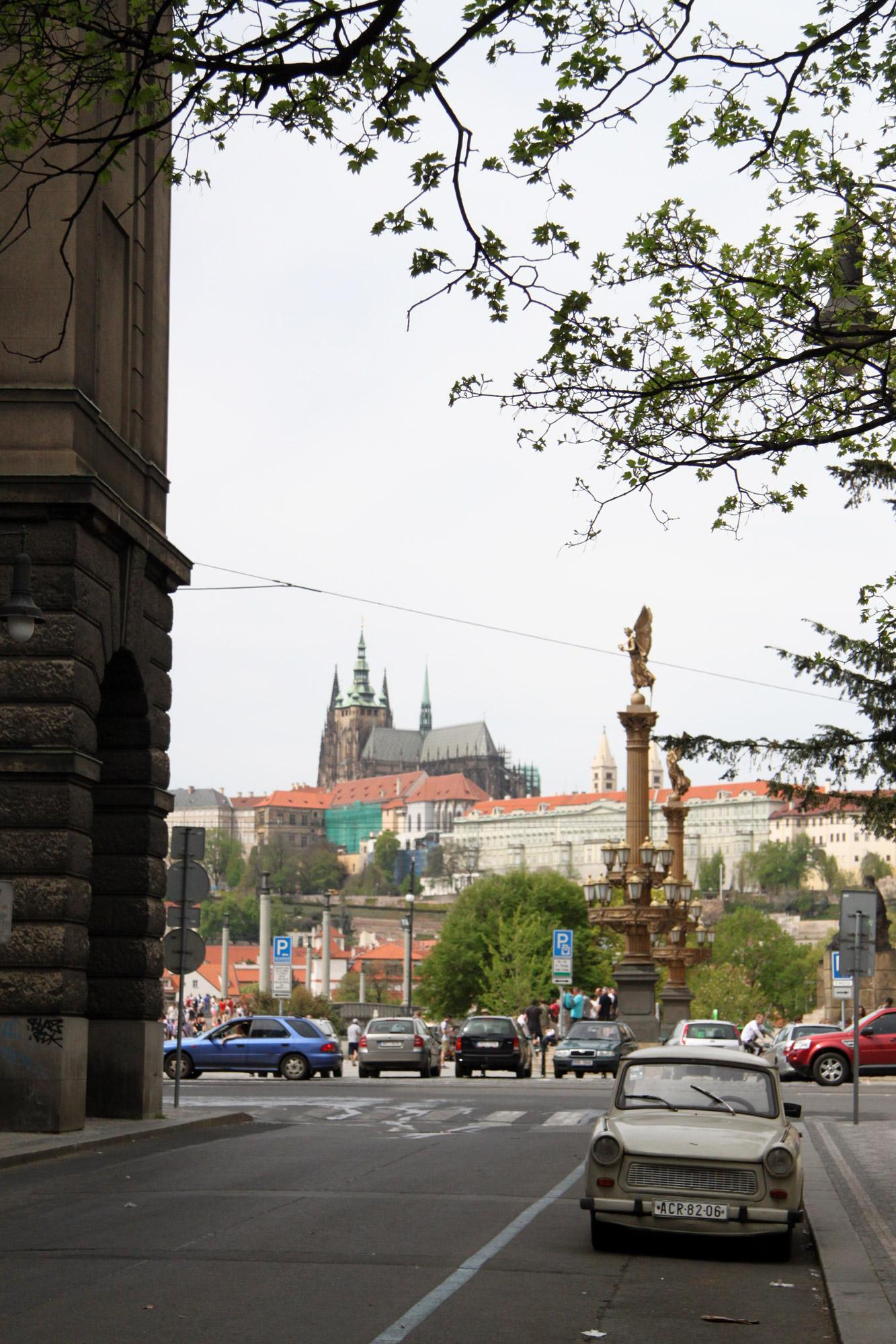 Fietsen door Praag - De Joodse wijk