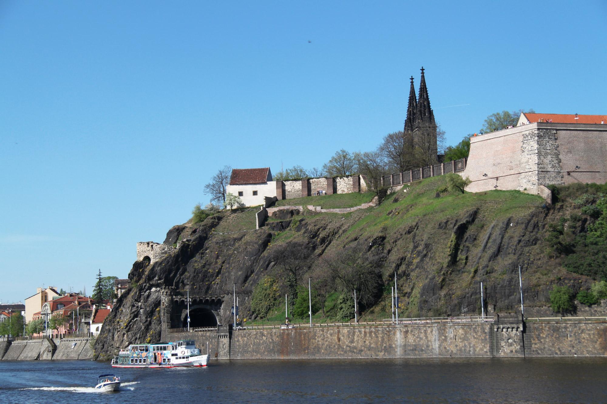 Fietsen door Praag - De vestingstad Vyšehrad