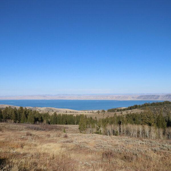 Amerika dag 1: Uitzicht op Bear Lake