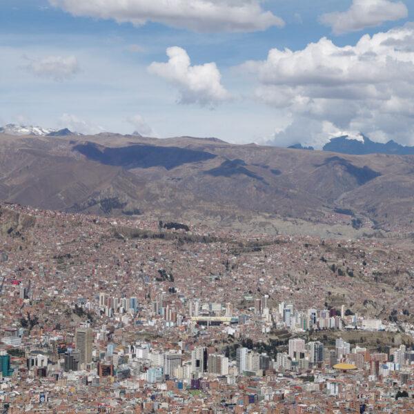 Bolivia 2016 - Dag 13 - Uitzicht op de miljoenenstad La Paz