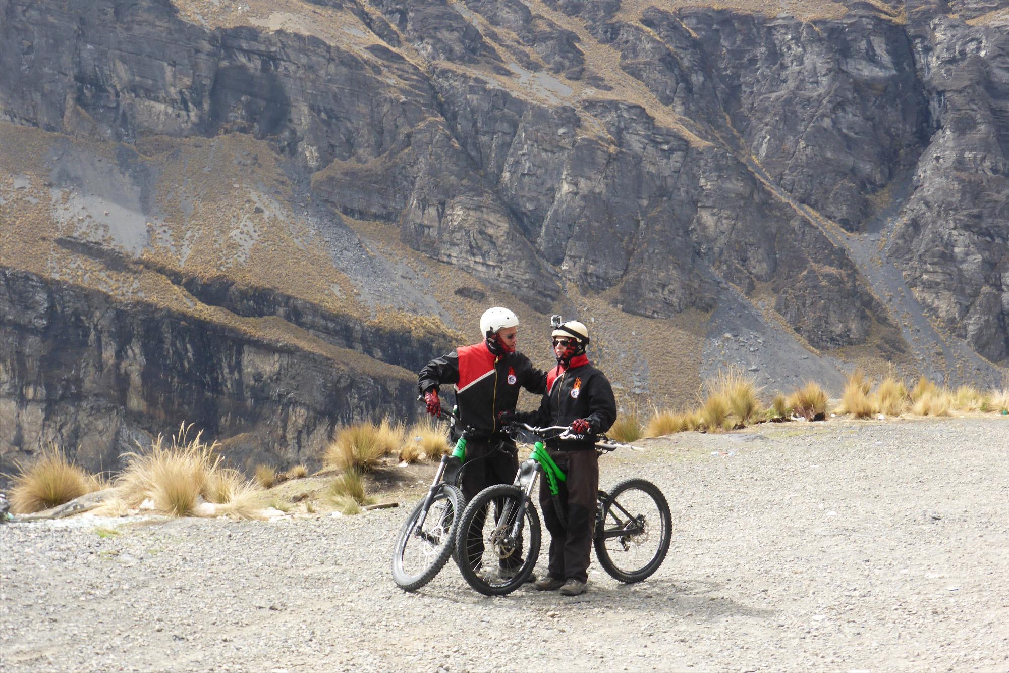 Bolivia 2016 - Dag 14 - Fietsen op de Death Road