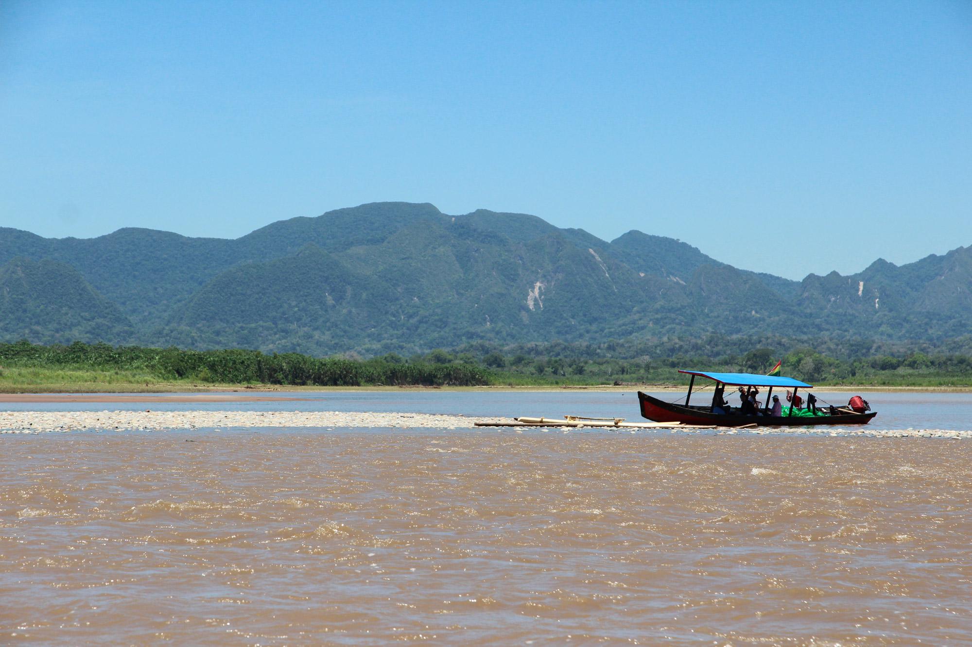 Bolivia 2016 - Dag 18 - Met de boot terug naar Rurrenabaque