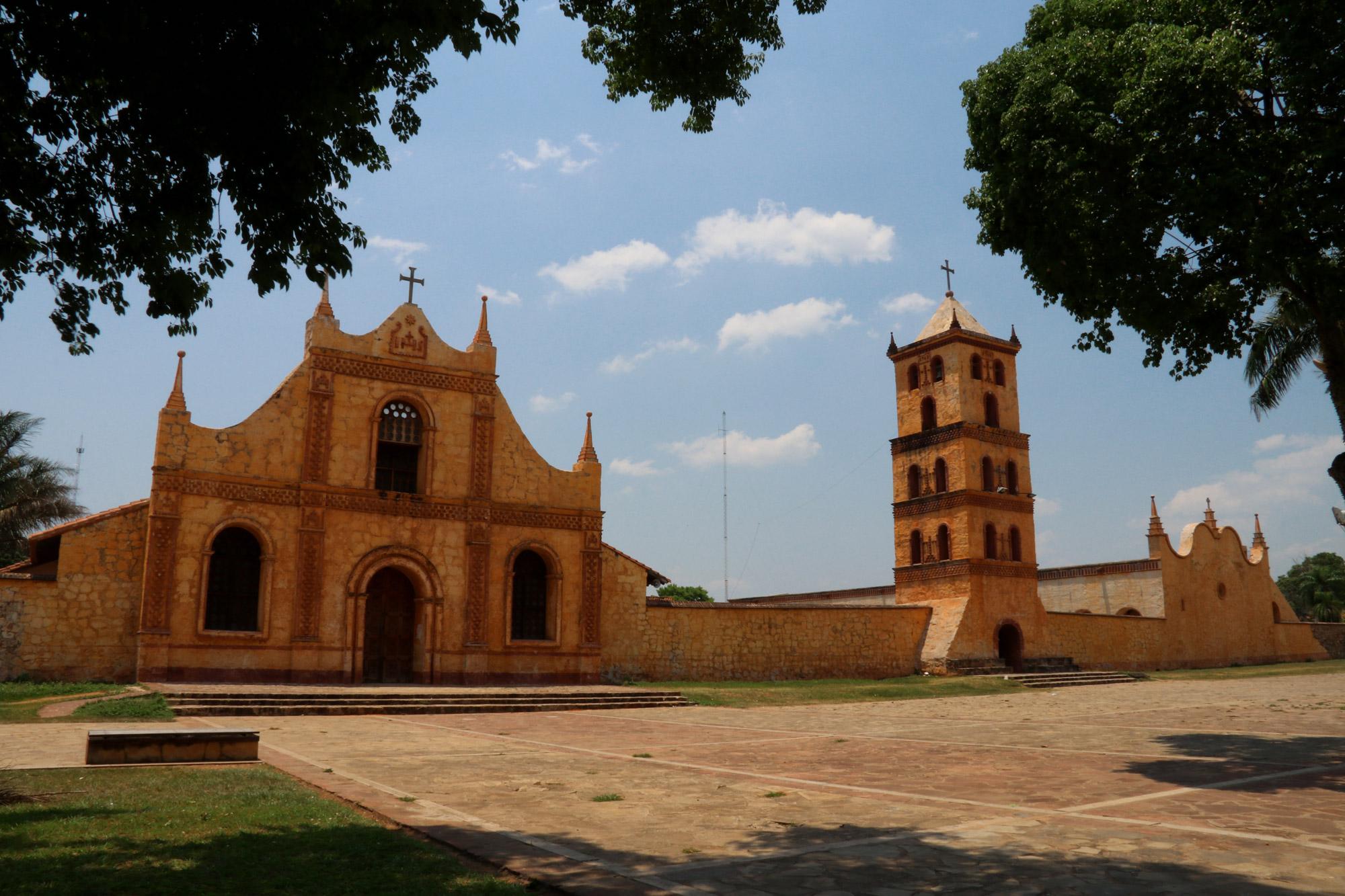 Bolivia 2016 - Dag 7 - De jezuïetenstad San José de Chiquitos