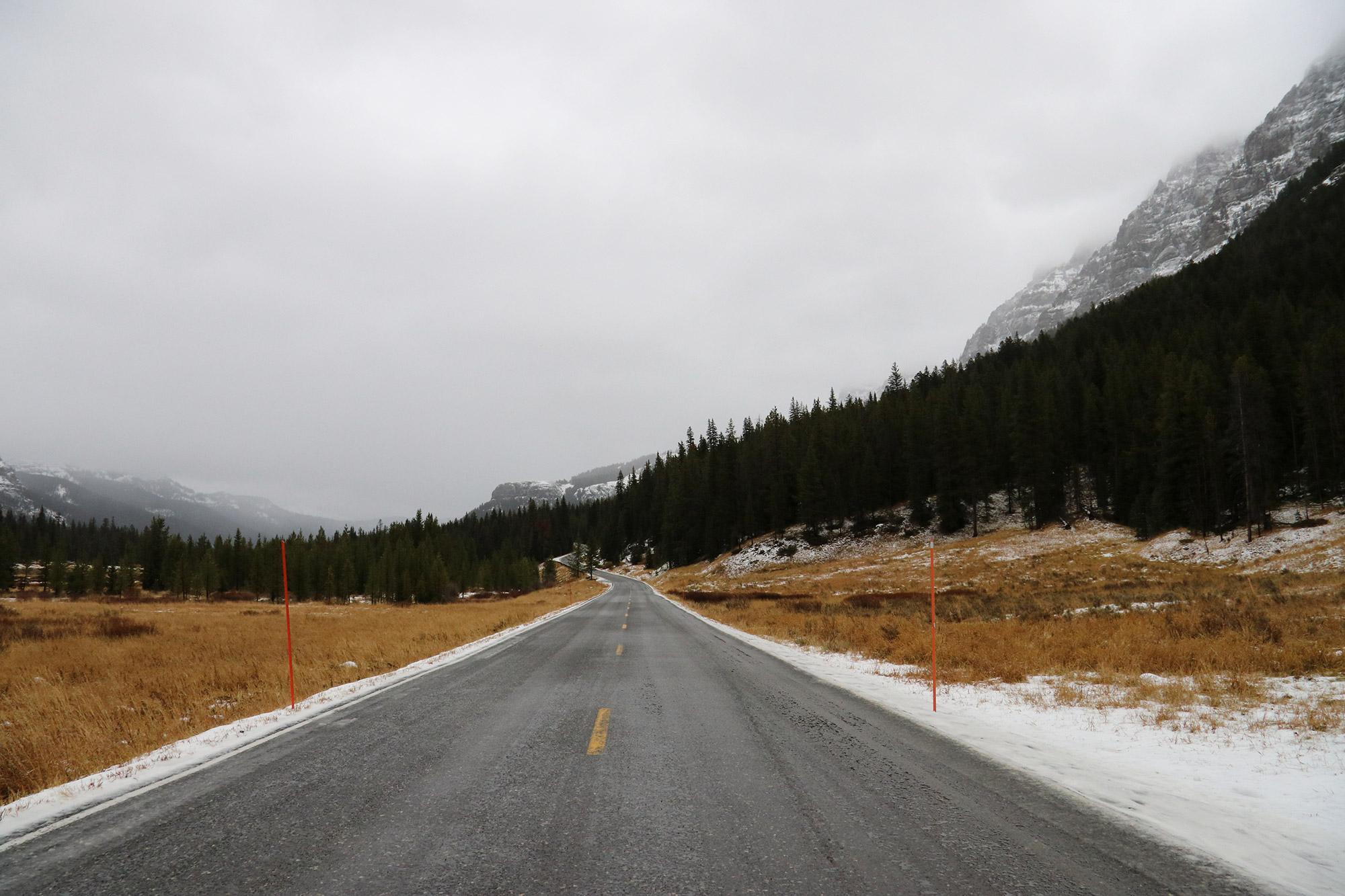 Amerika dag 4 - Yellowstone National Park - Onderweg naar Montana