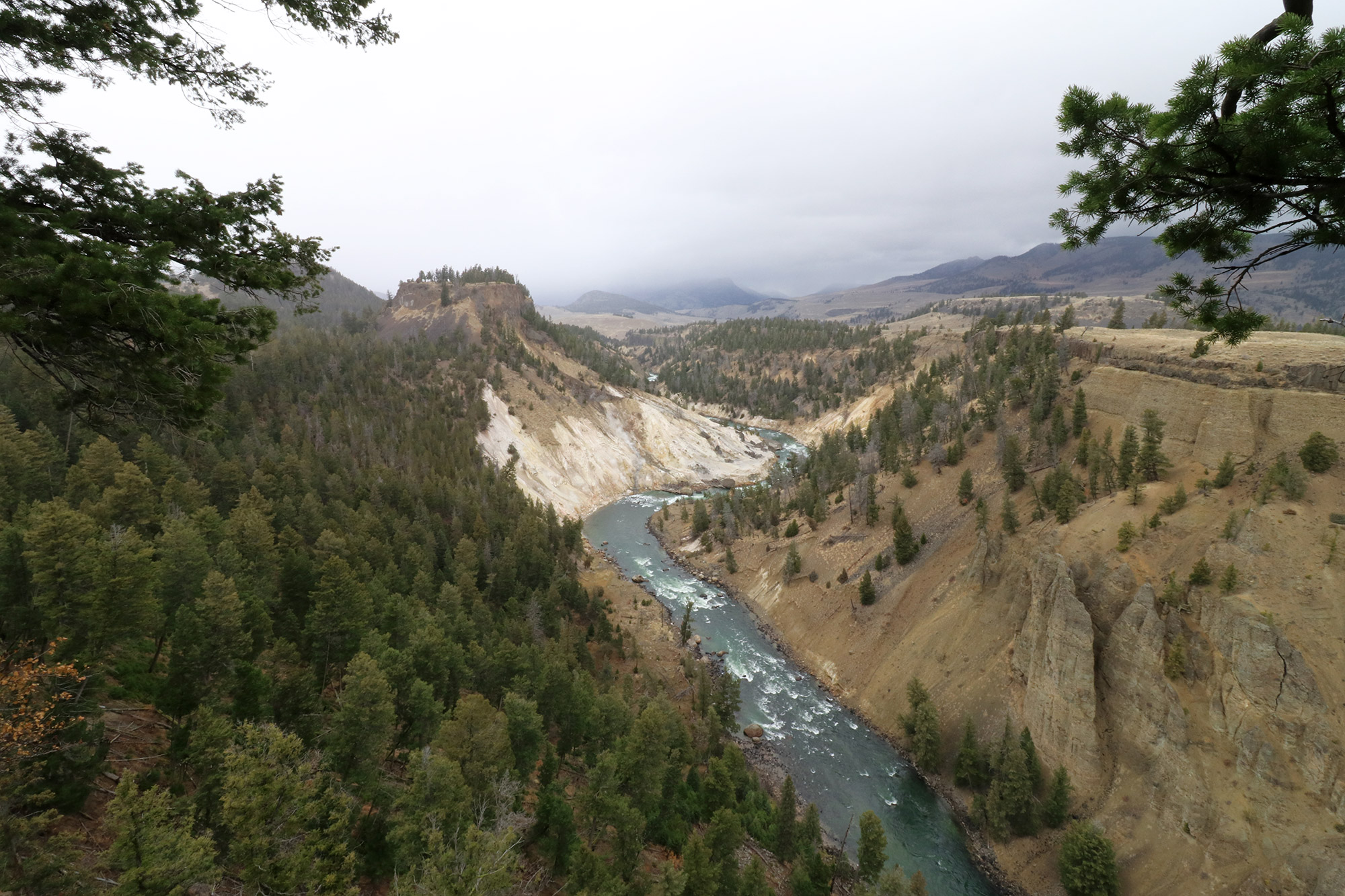 Amerika dag 4 - Yellowstone National Park - Undine Falls Trail