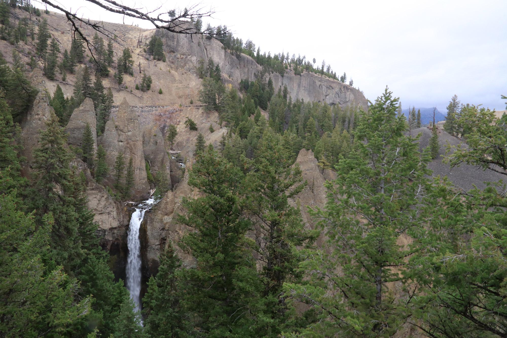 Amerika dag 4 - Yellowstone National Park - Tower Fall