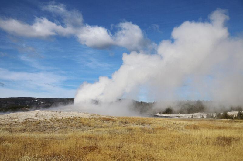 Amerika dag 5 - Yellowstone National Park - Old Faithful