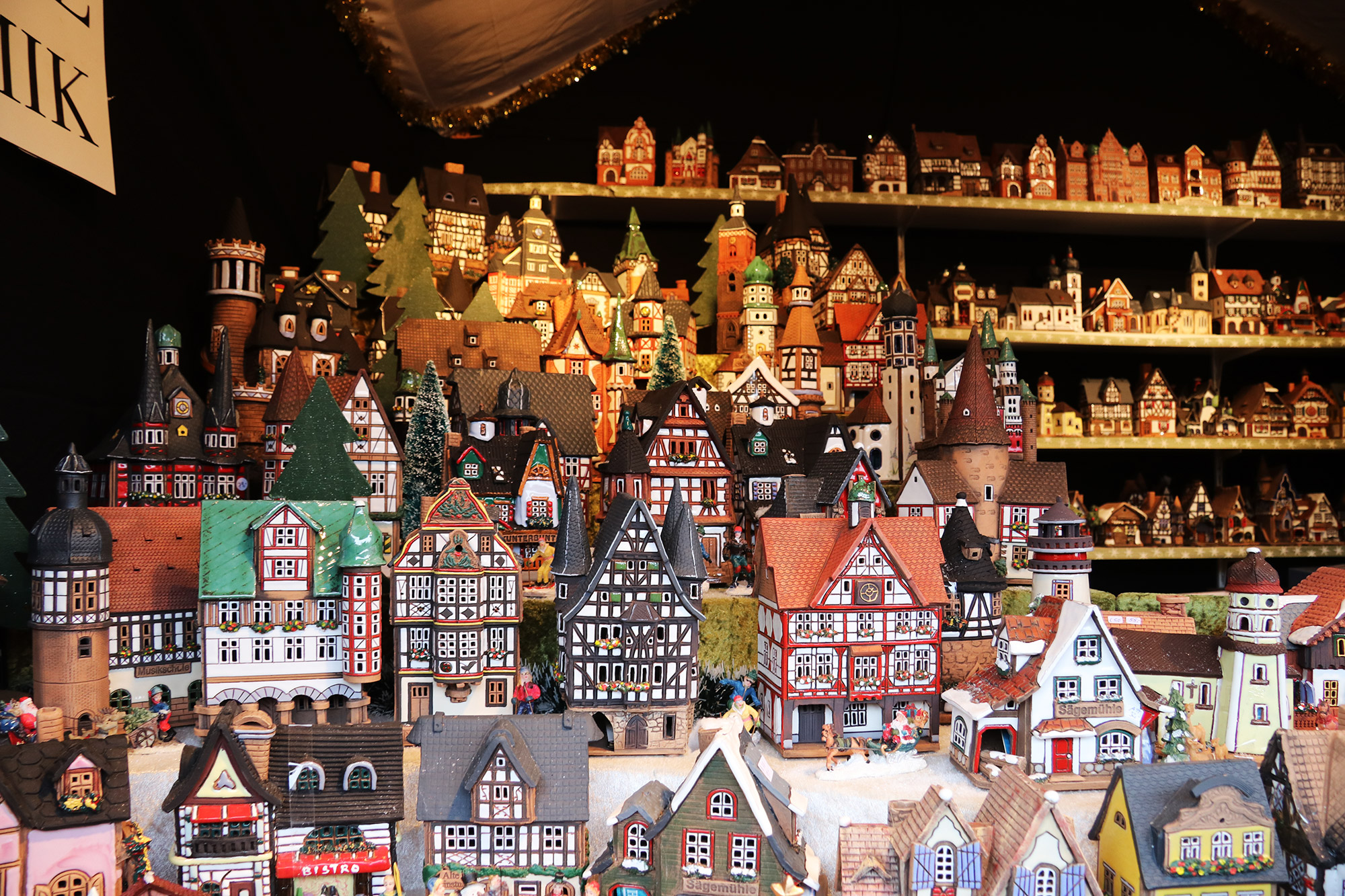 Oberhausen kerstmarkt, mijn tips - Keramiekhuisjes