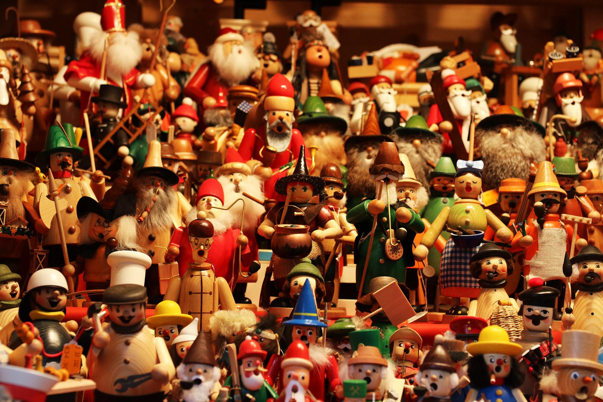 Oberhausen kerstmarkt, mijn tips - Rauchermänner