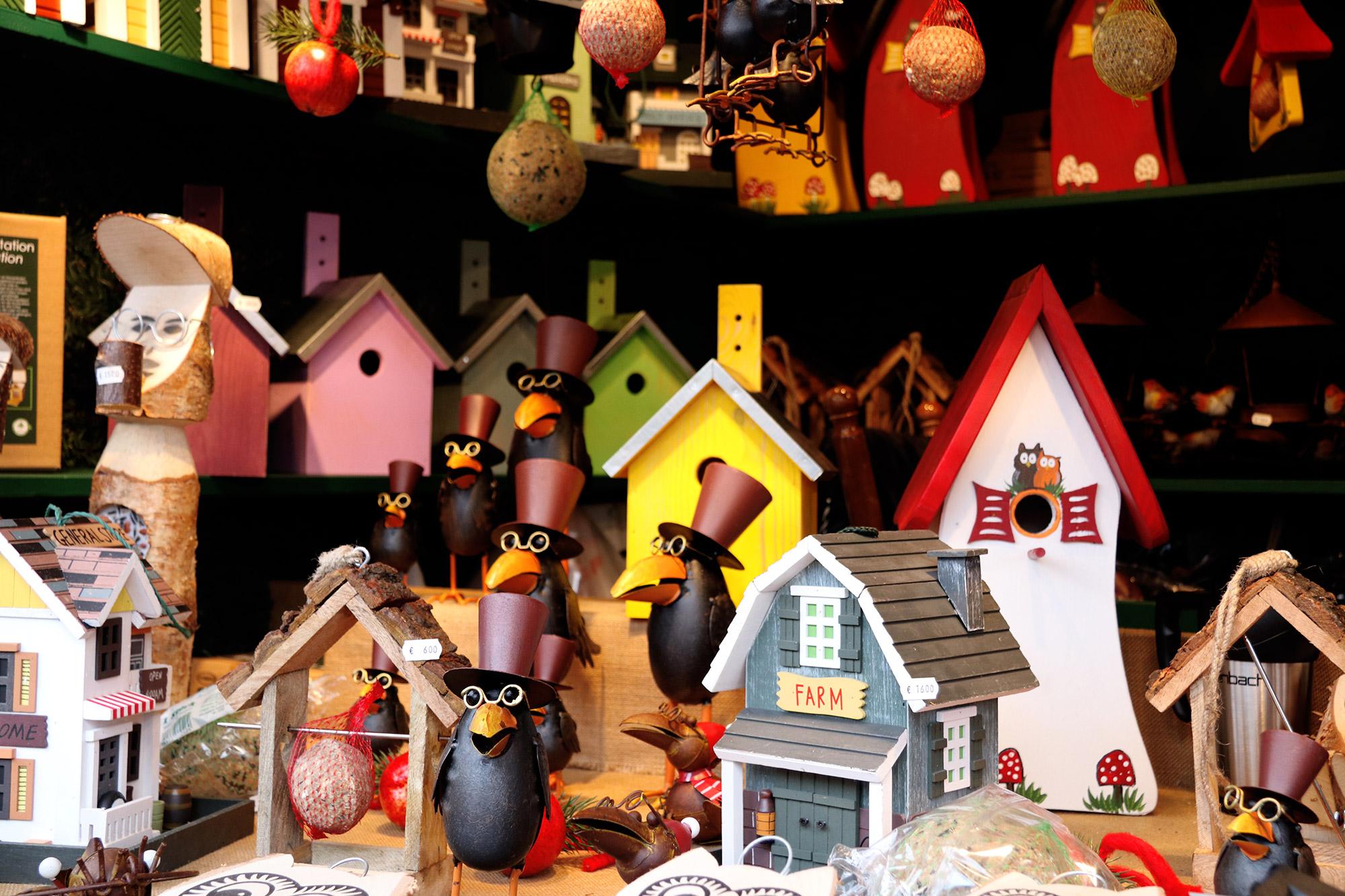 Oberhausen kerstmarkt, mijn tips - Vogelhuisjes
