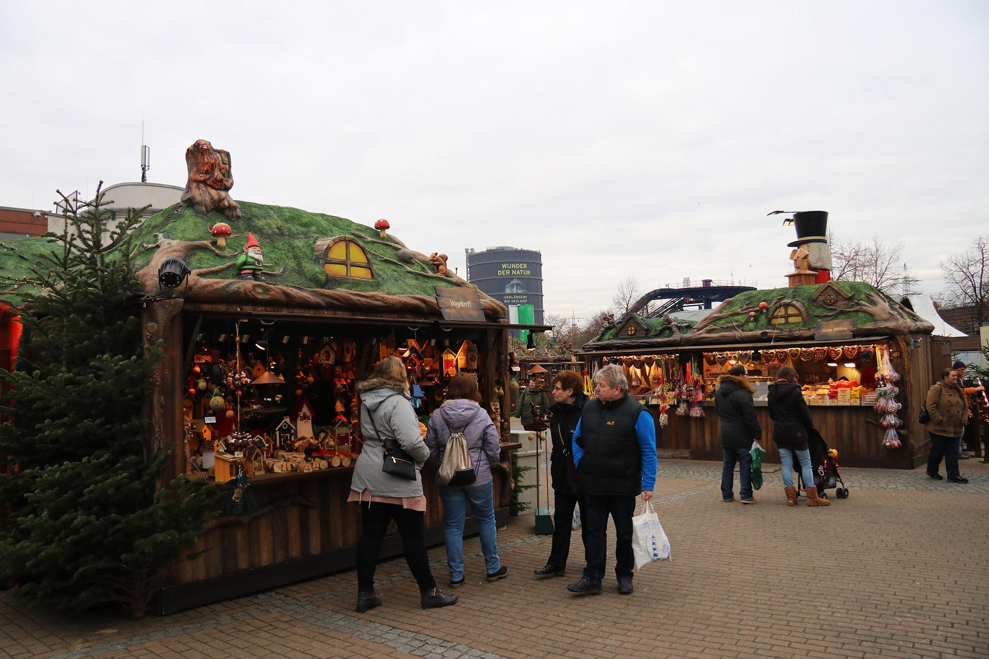 Oberhausen kerstmarkt, mijn tips - Wichtelmarkt