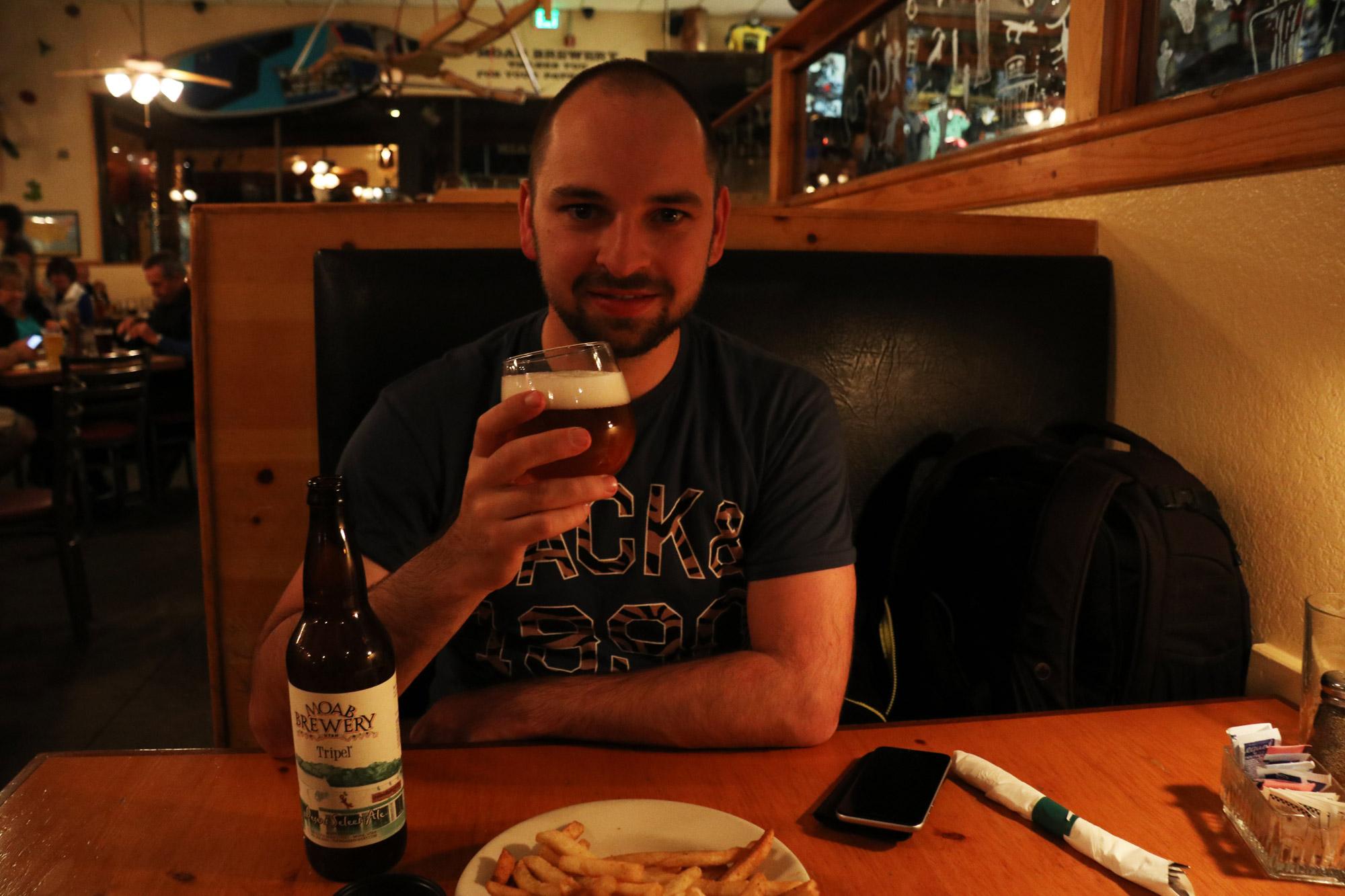 Amerika dag 7 - Moab Brewery