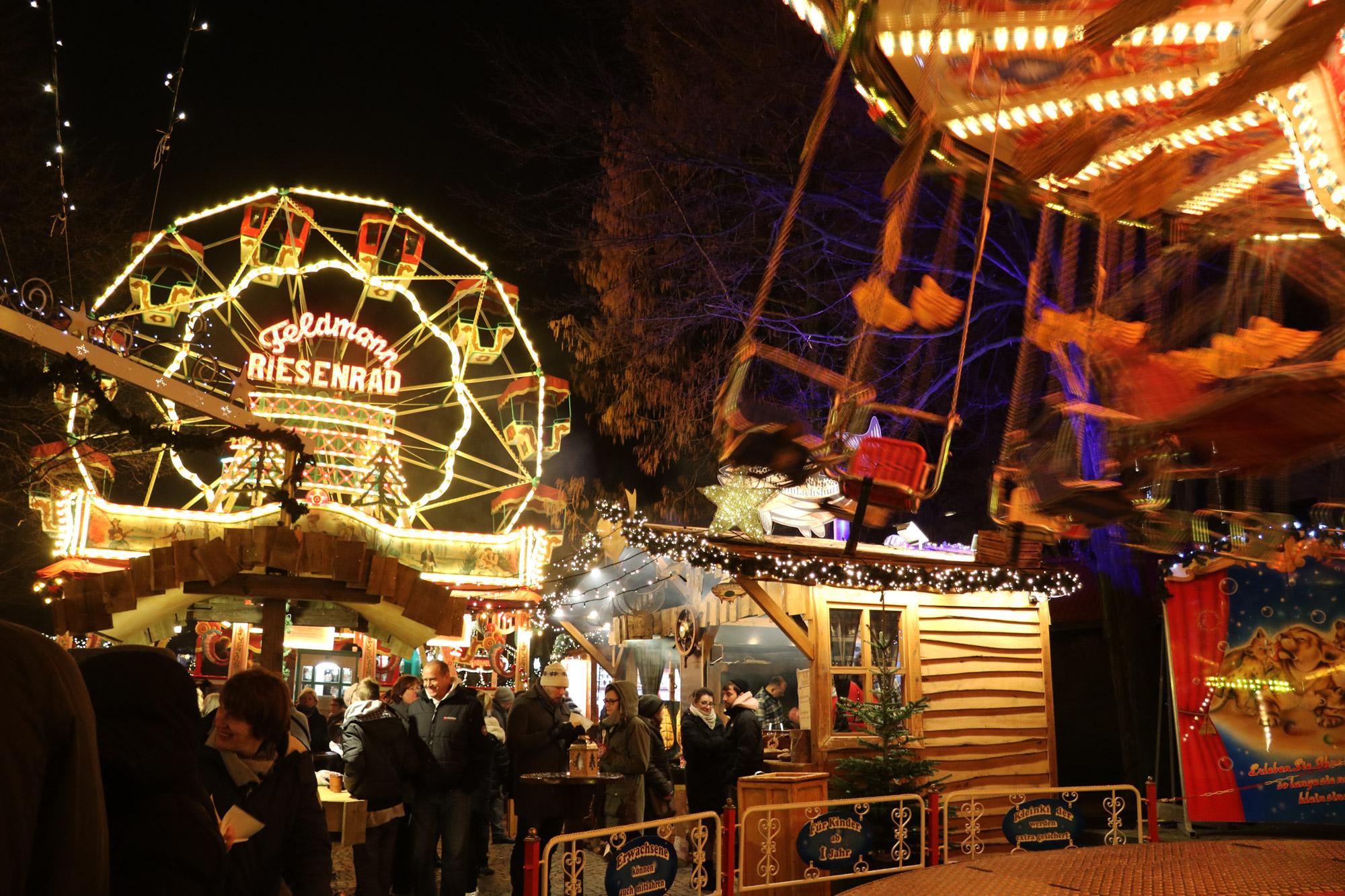 Bielefeld kerstmarkt - Attracties voor kinderen