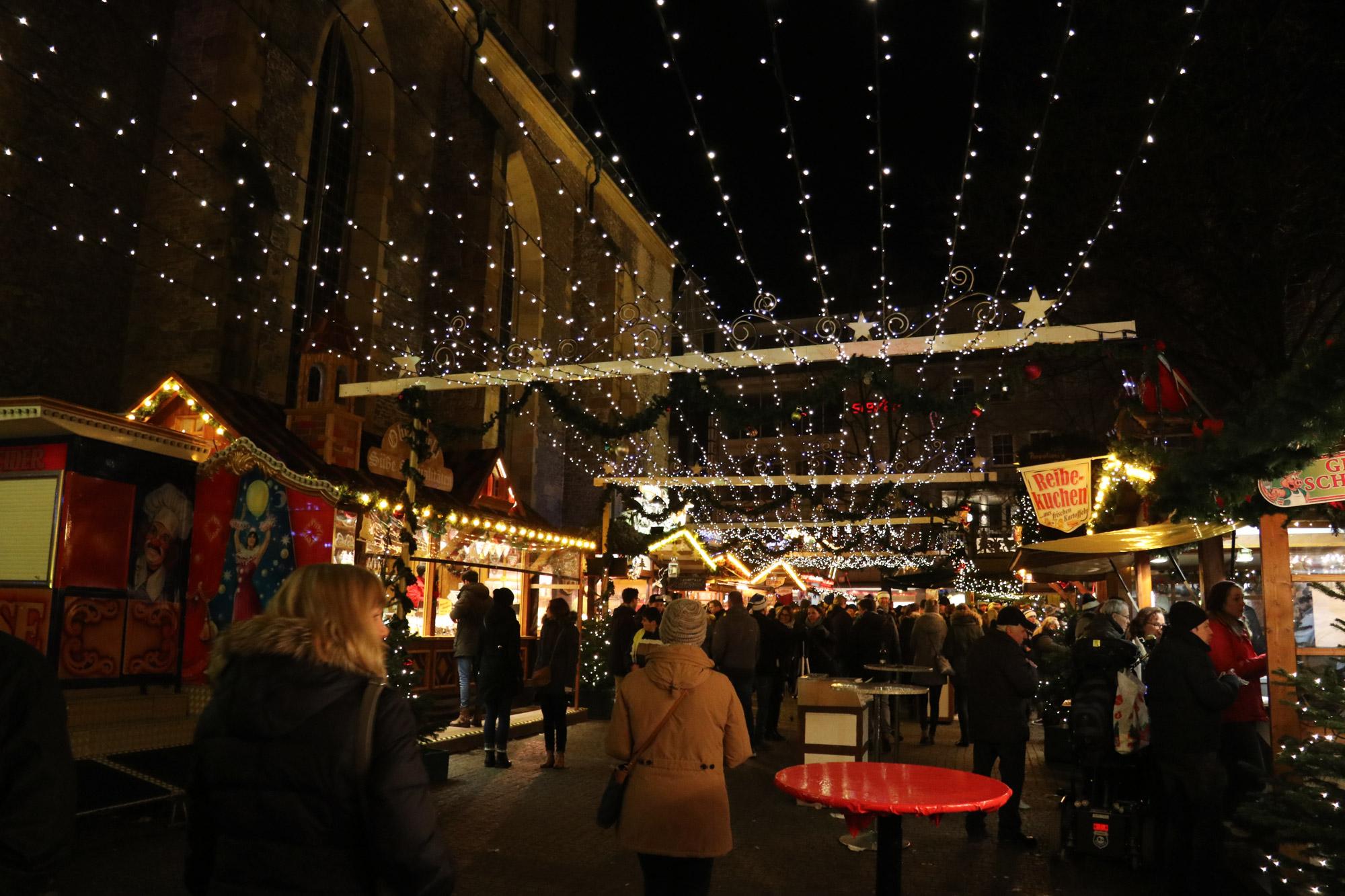 Bielefeld kerstmarkt - Rathaus