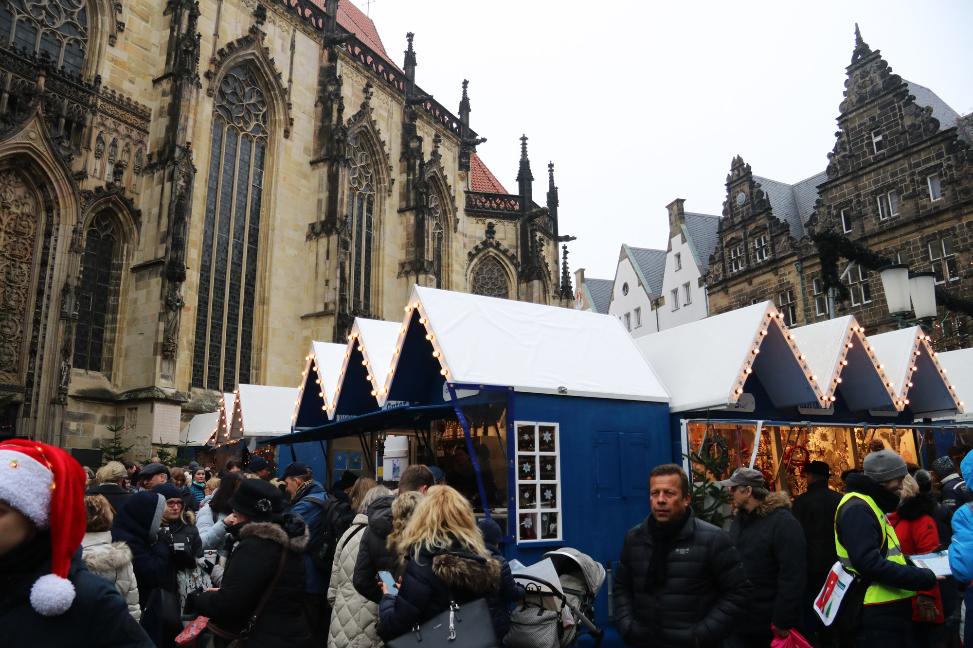 Münster kerstmarkt - St. Lamberti Weihnachtsmarkt