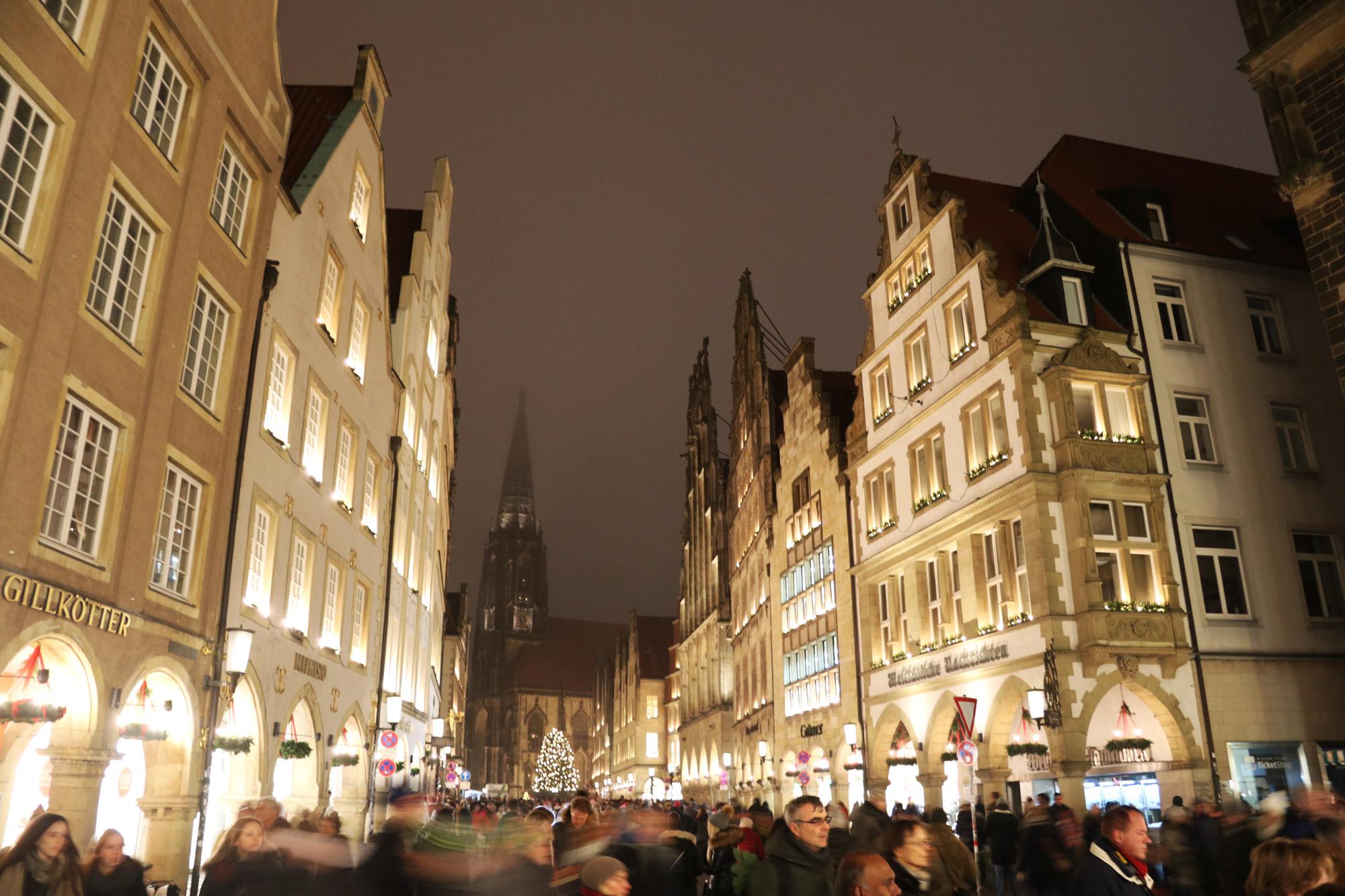 Münster kerstmarkt - Altstadt