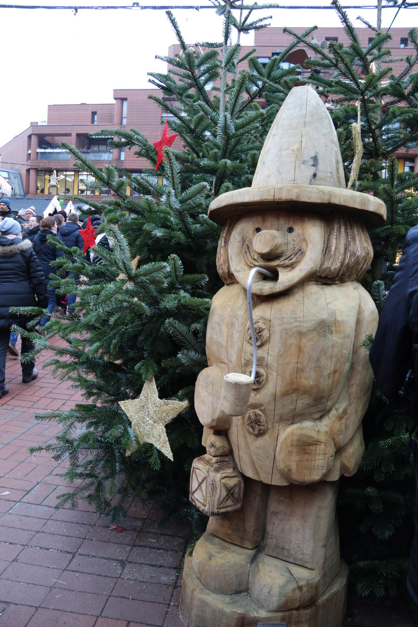Münster kerstmarkt - Rauchermänner