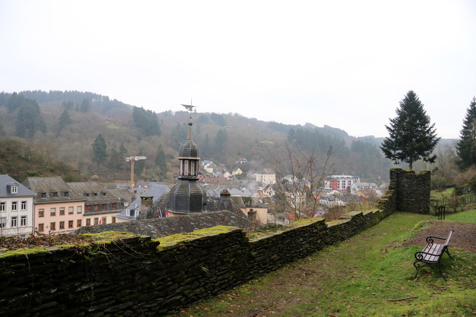 5x doen in Vianden - Loop langs de stadsmuur
