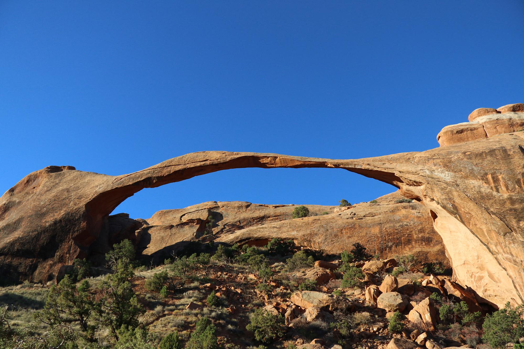 Amerika dag 9 - Arches National Park - Landscape Arch