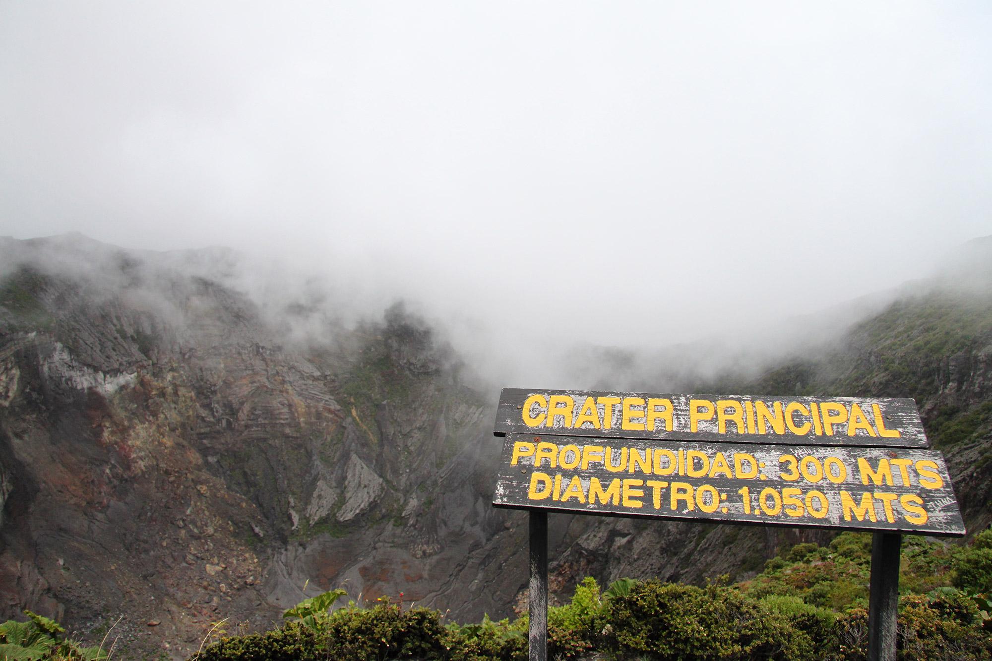 Onze favoriete nationale parken van Costa Rica - Parque Nacional Volcán Irazú