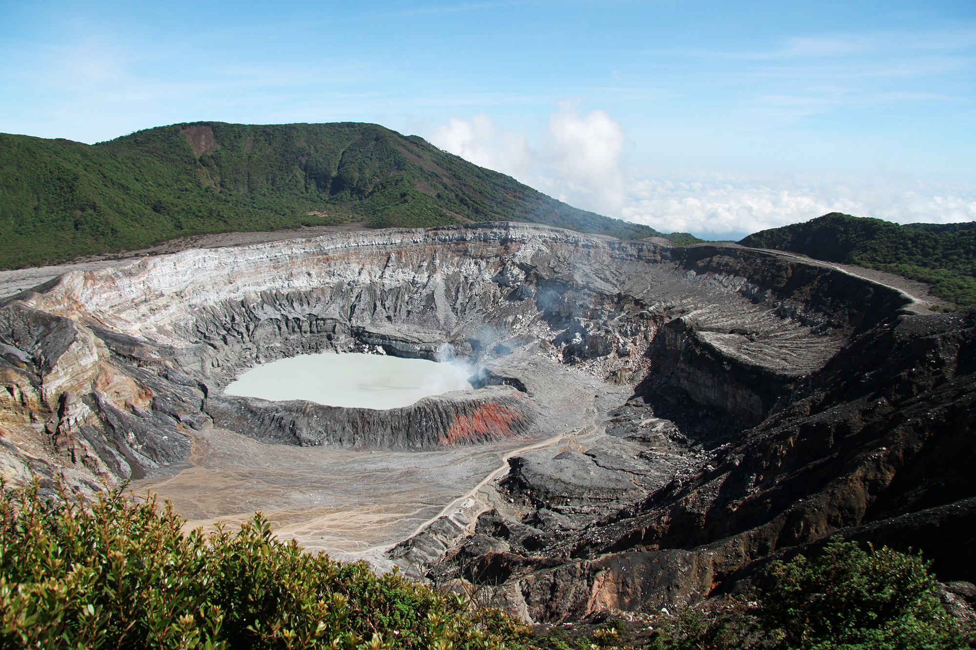 Onze favoriete nationale parken van Costa Rica - Parque Nacional Volcán Poás