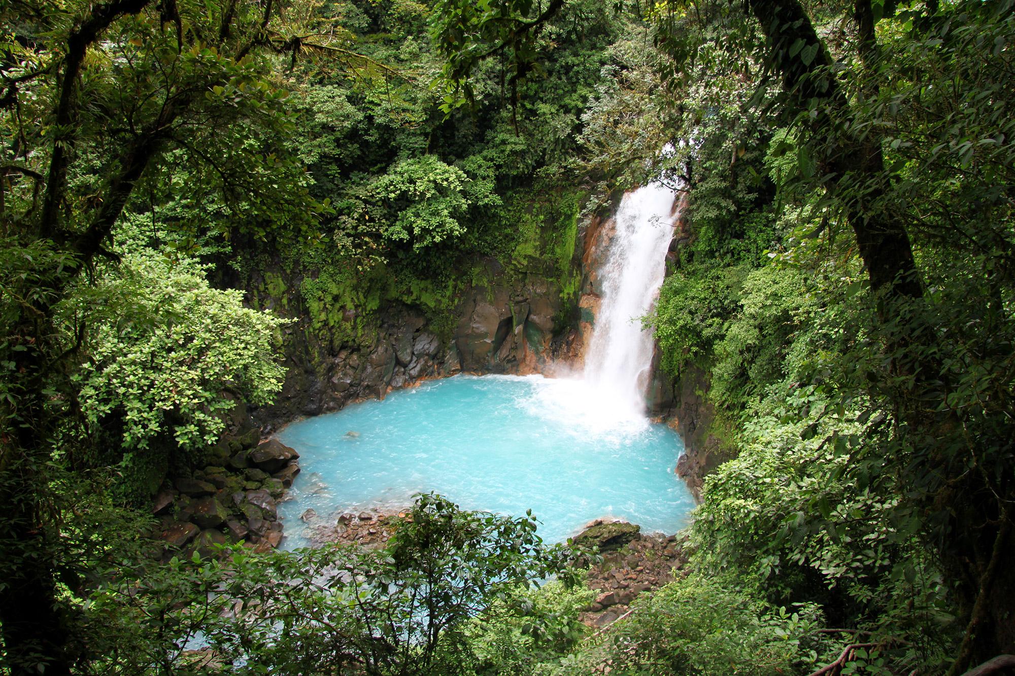 Onze favoriete nationale parken van Costa Rica - Parque Nacional Volcán Tenorio