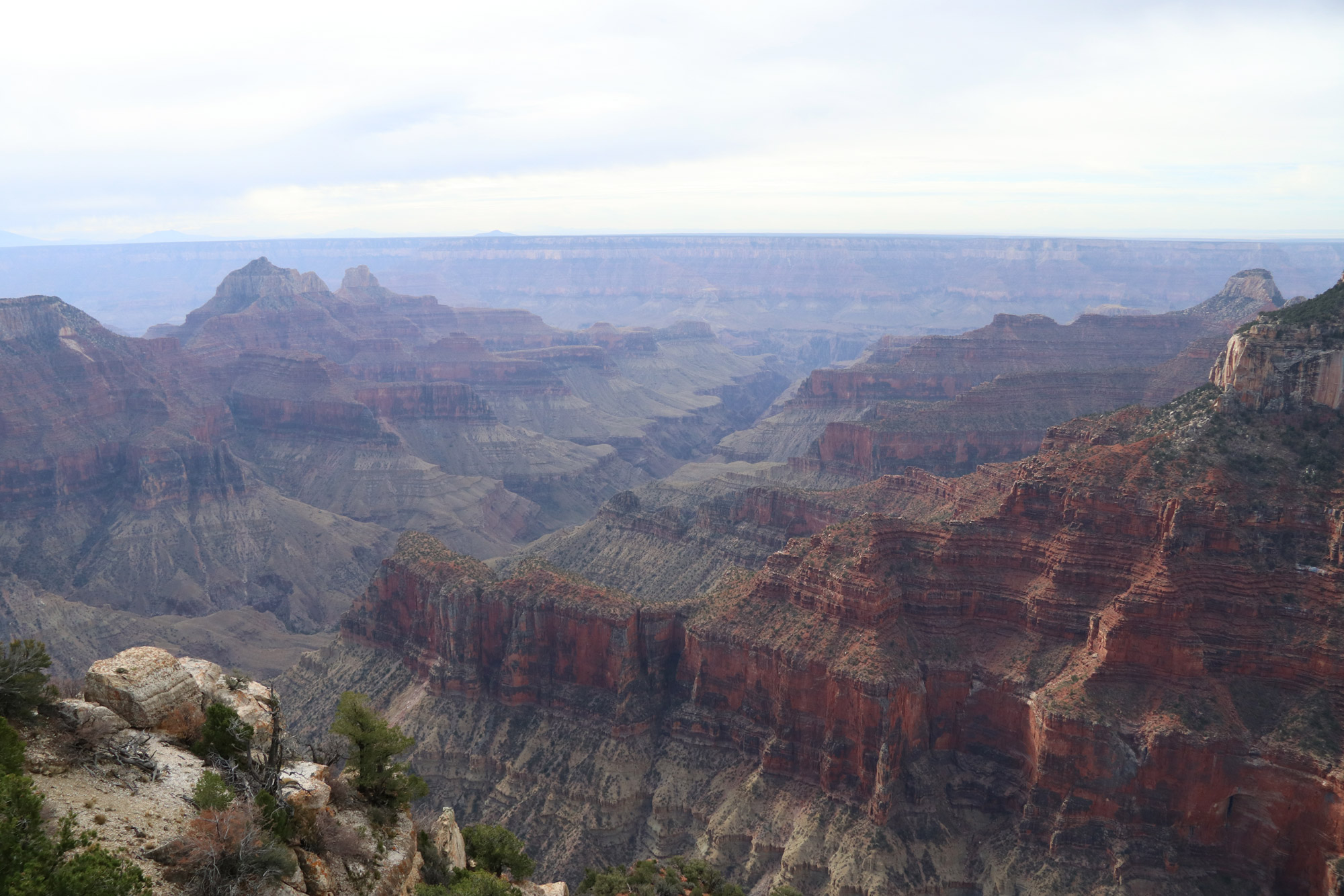 Amerika dag 13 - Grand Canyon National Park - Bright Angel Point