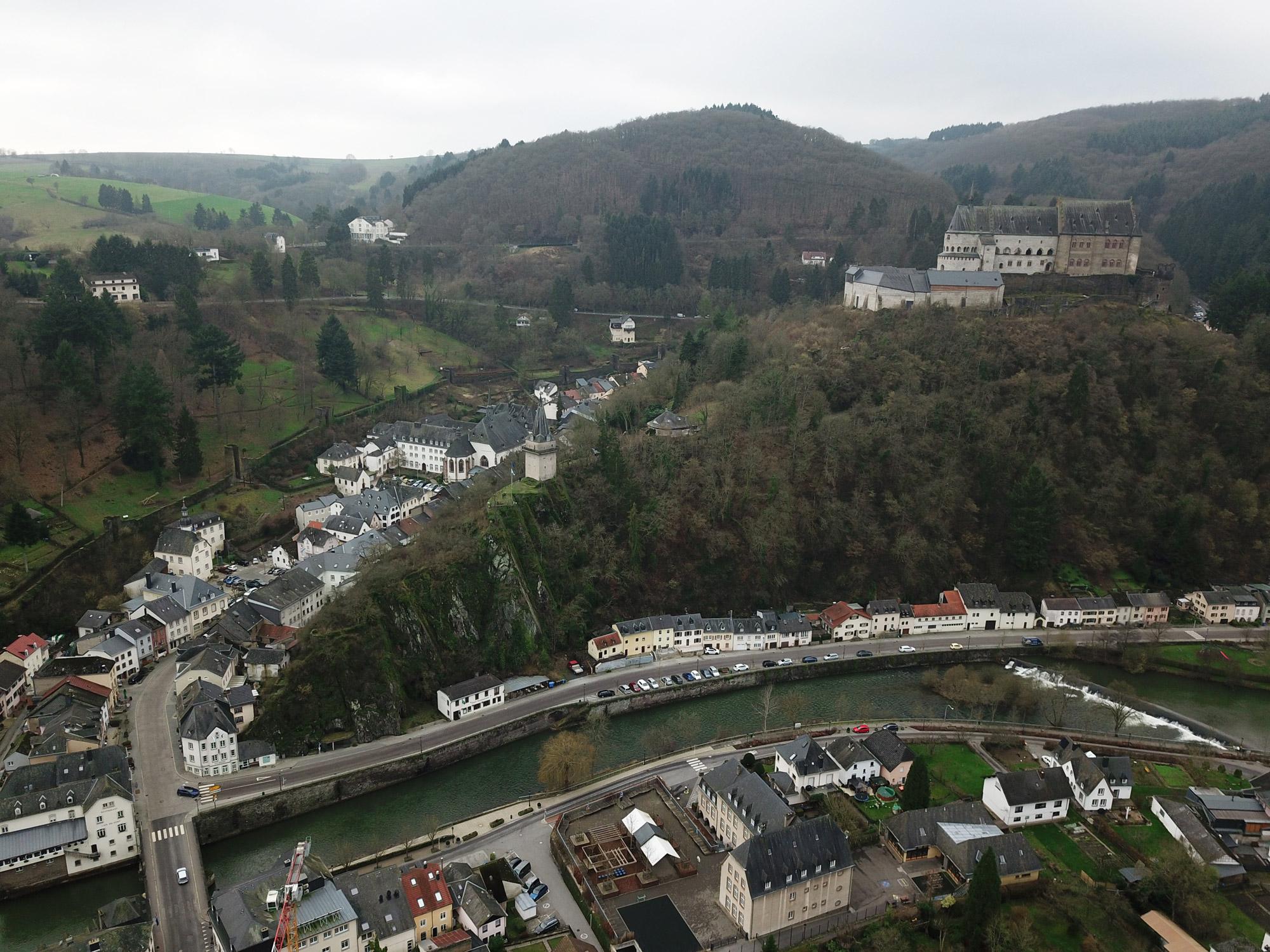 Foto van de maand: januari 2018 - Vianden, Luxemburg