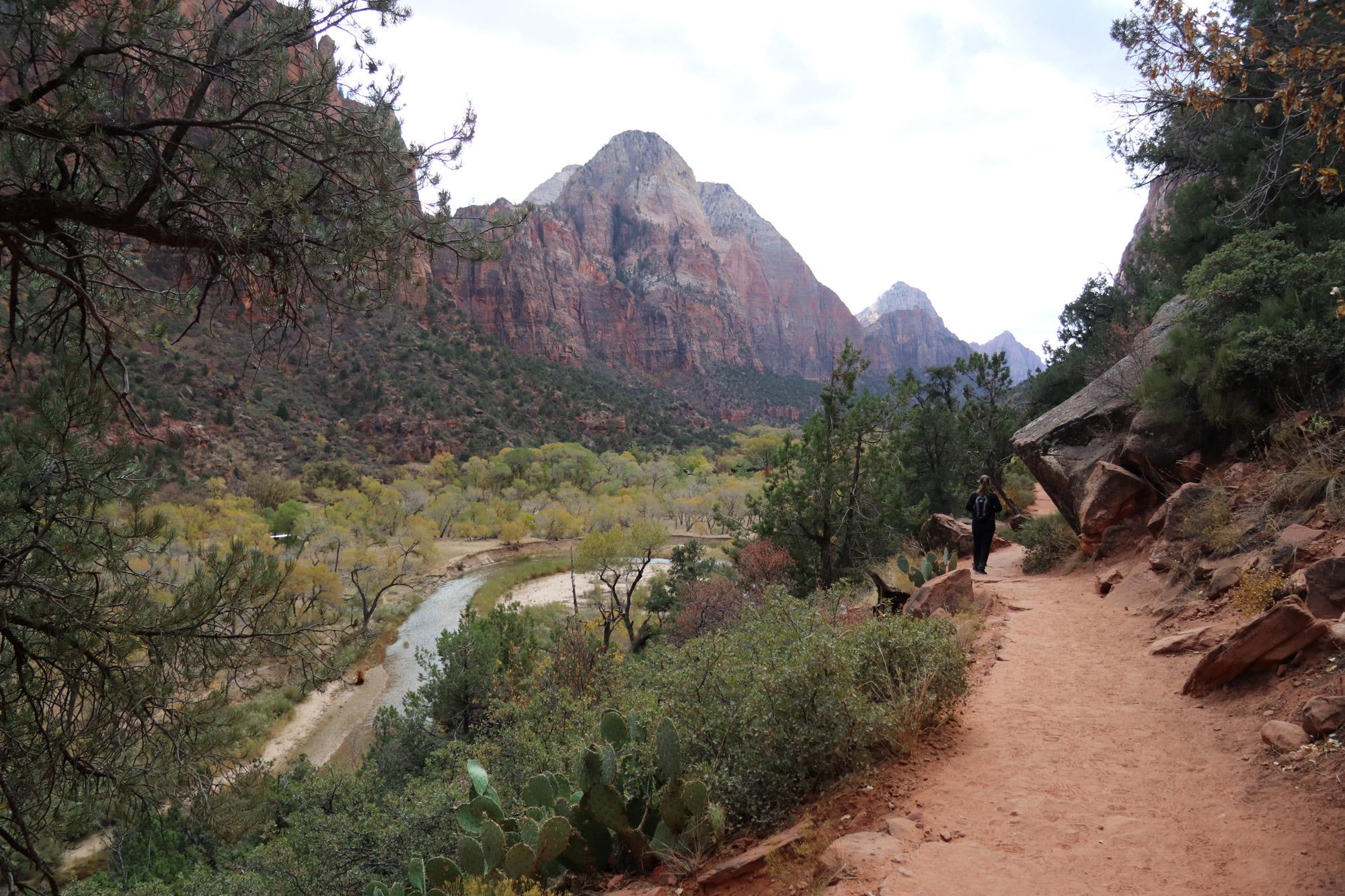 Amerika dag 16 - Zion National Park - Emerald Pools Trail
