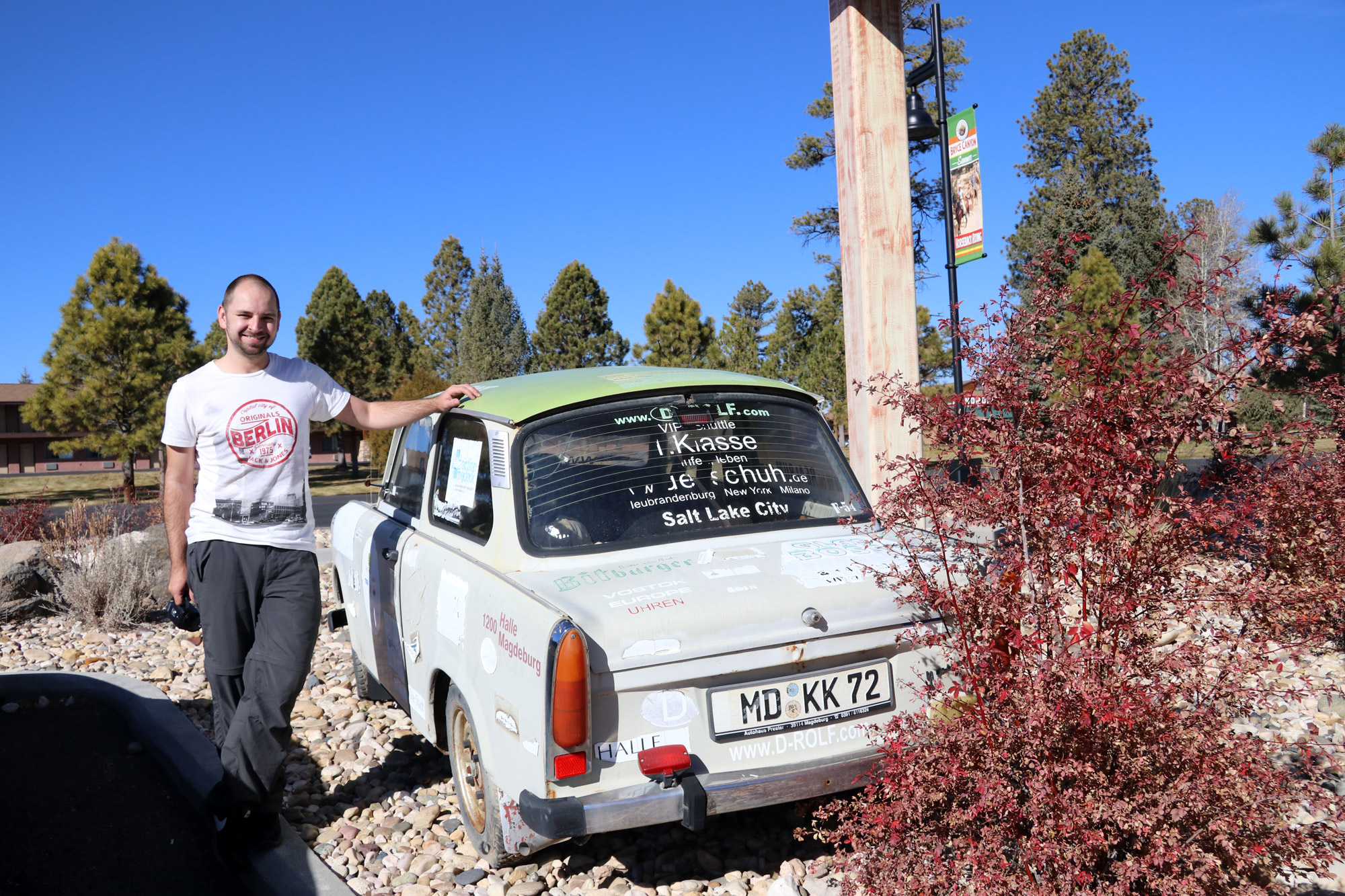 Amerika dag 14 - Bryce Canyon National Park - Trabant