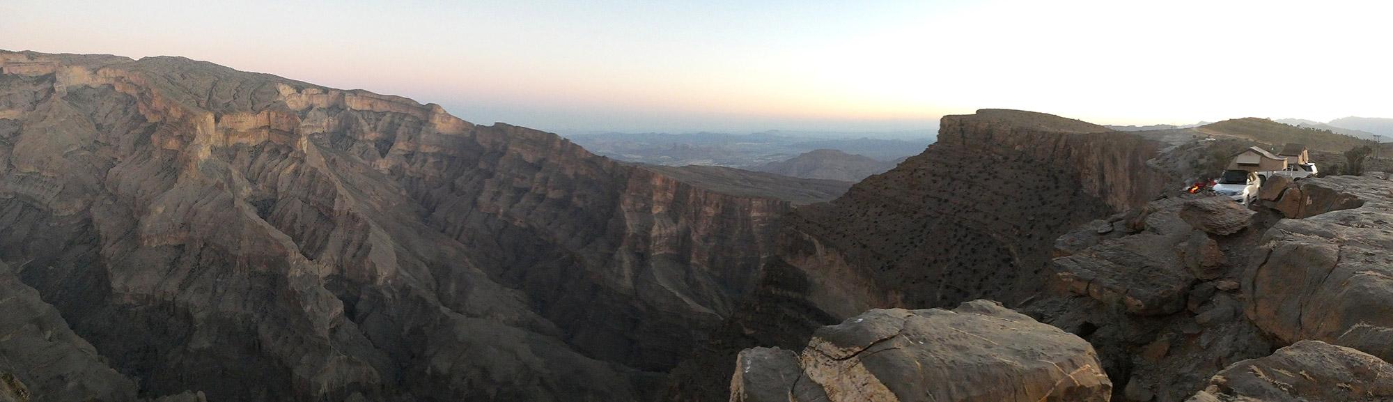 De volgers van Reizen & Reistips: Eric en Claudia - The Balcony in Oman