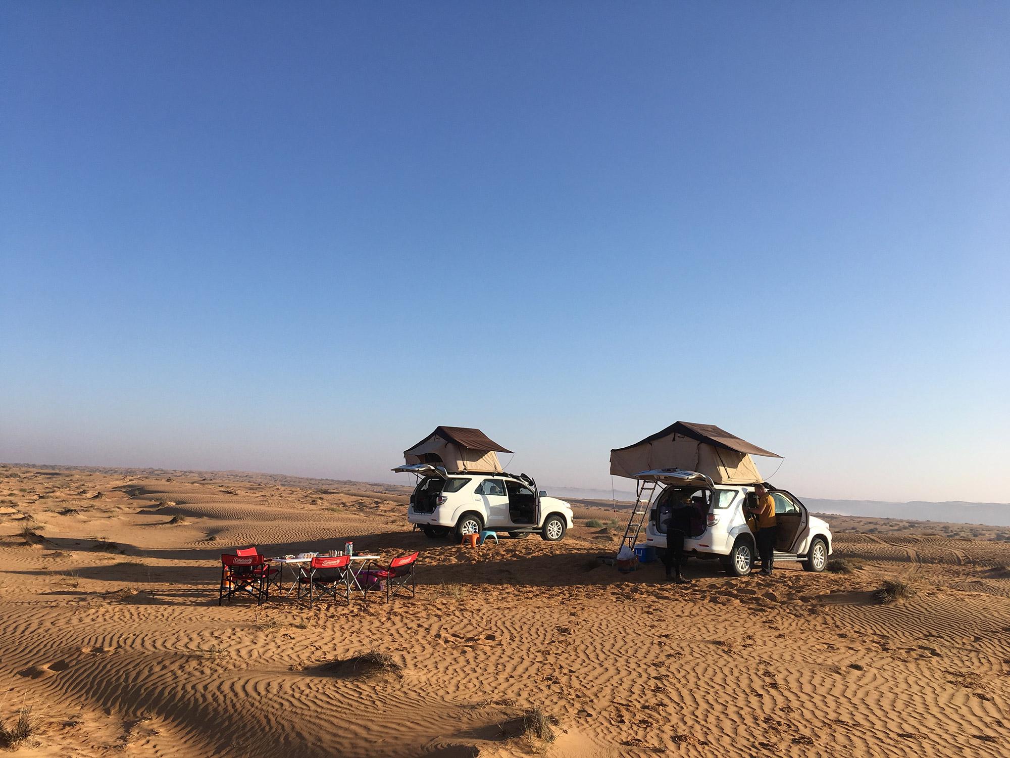 De volgers van Reizen & Reistips: Eric en Claudia - Wahibi Sands in Oman