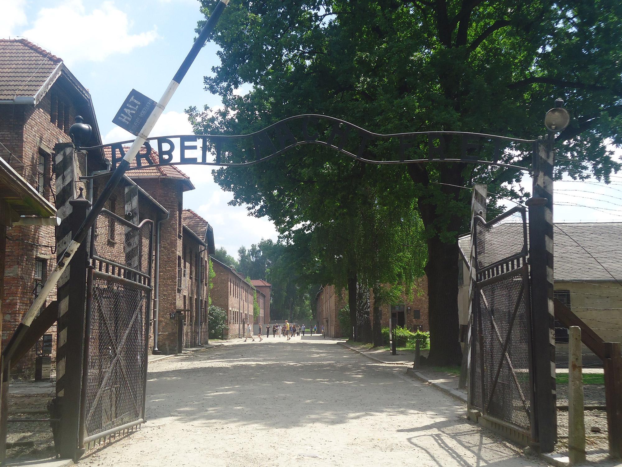 Erik & Judith - Auschwitz in Polen