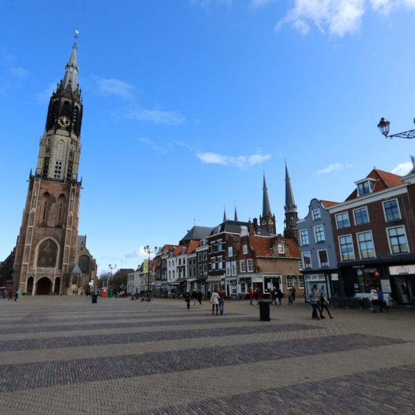 Markt - Delft - Nederland