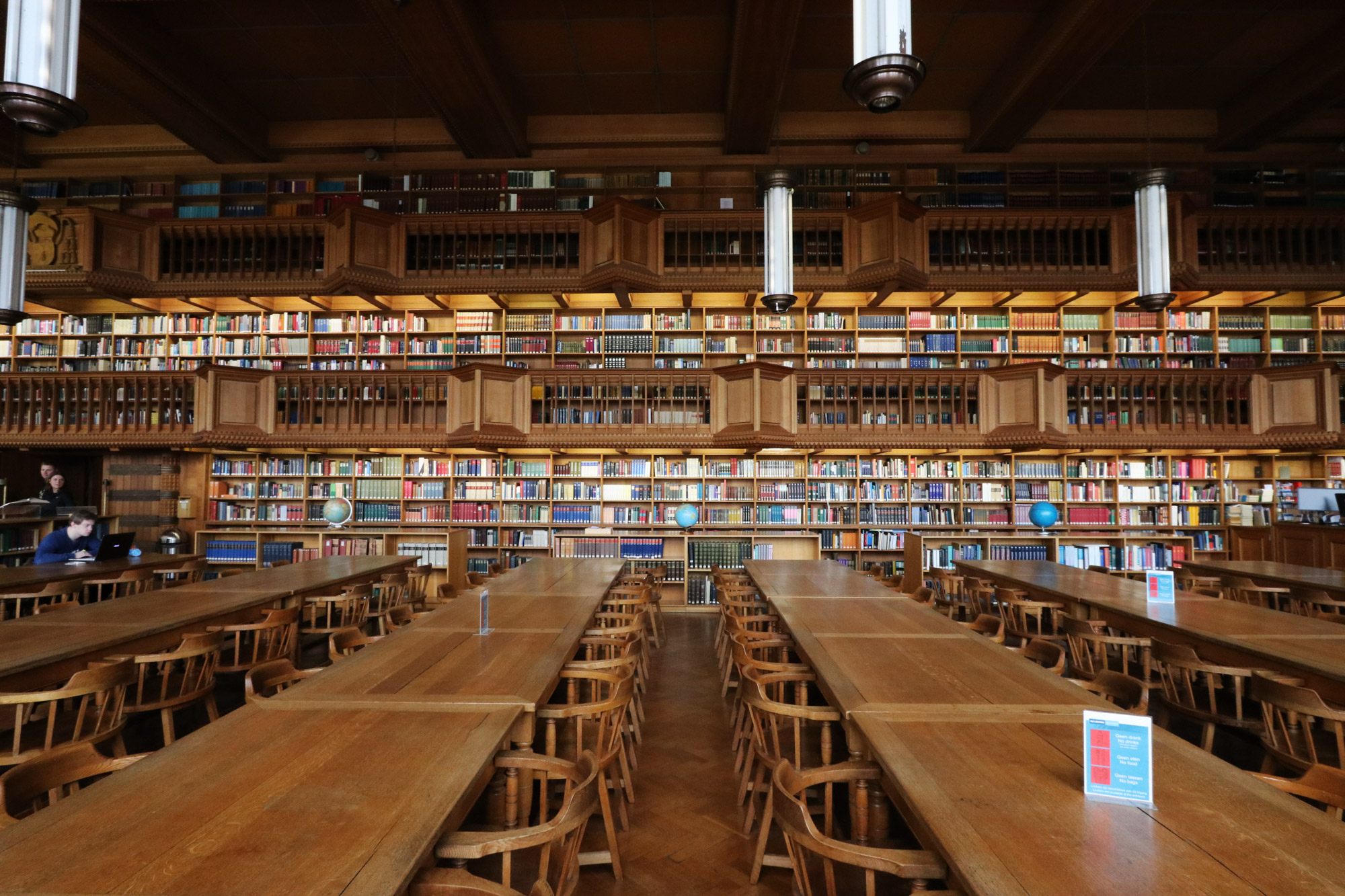 Weekendje Leuven - Universiteitsbibliotheek