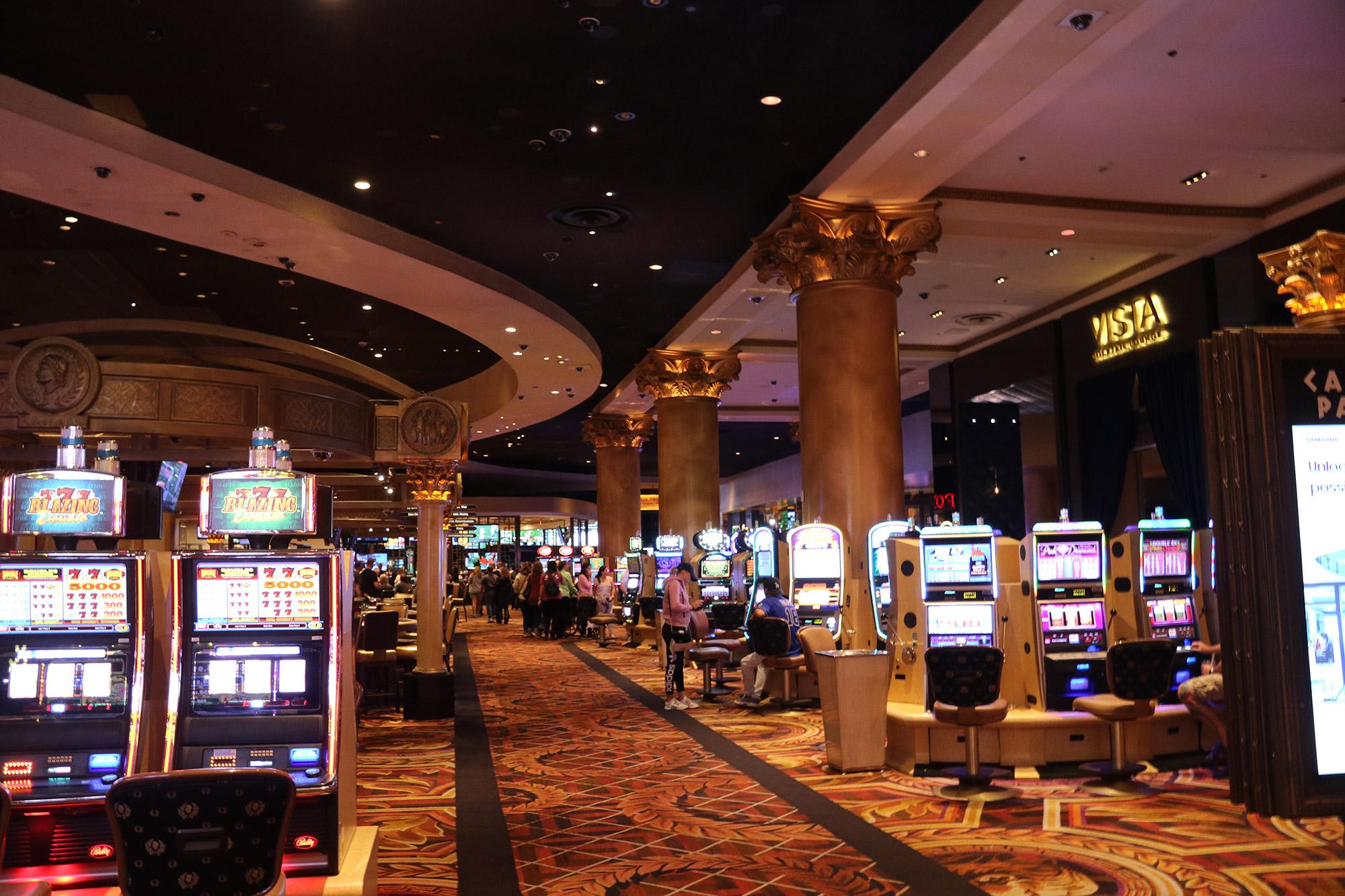 Amerika dag 17 - Las Vegas - Gokken in Caesars Palace